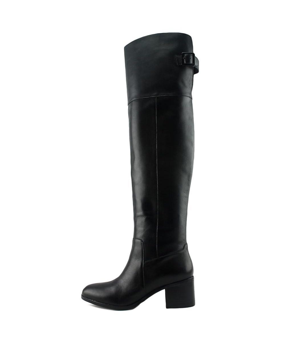 74ca9b47c07 Lyst - Aldo Ceci Round Toe Leather Over The Knee Boot in Black