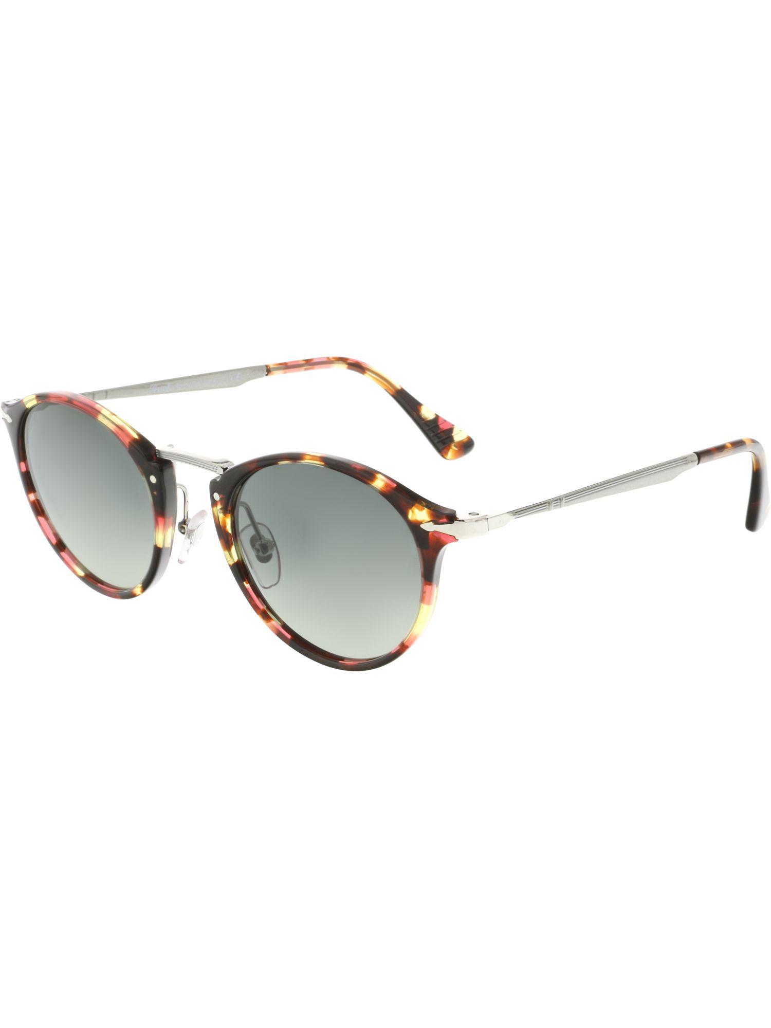 5292c414e1 Lyst - Persol Po3166s-105971-49 Brown Round Sunglasses in Brown for Men