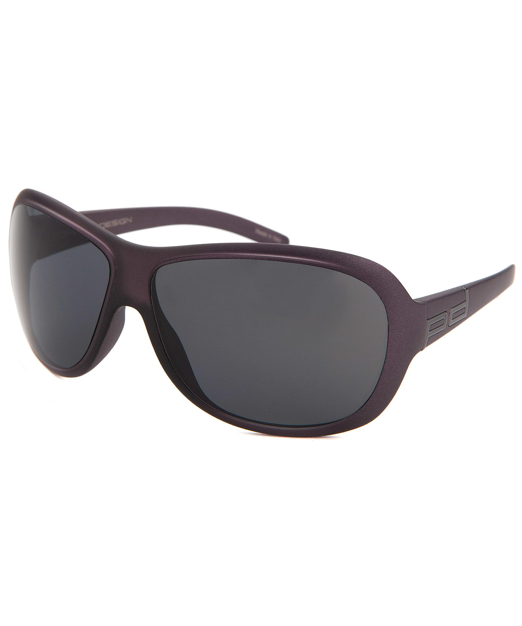 014ab52b2422 Lyst - Porsche Design Rectangle Purple Sunglasses in Purple for Men