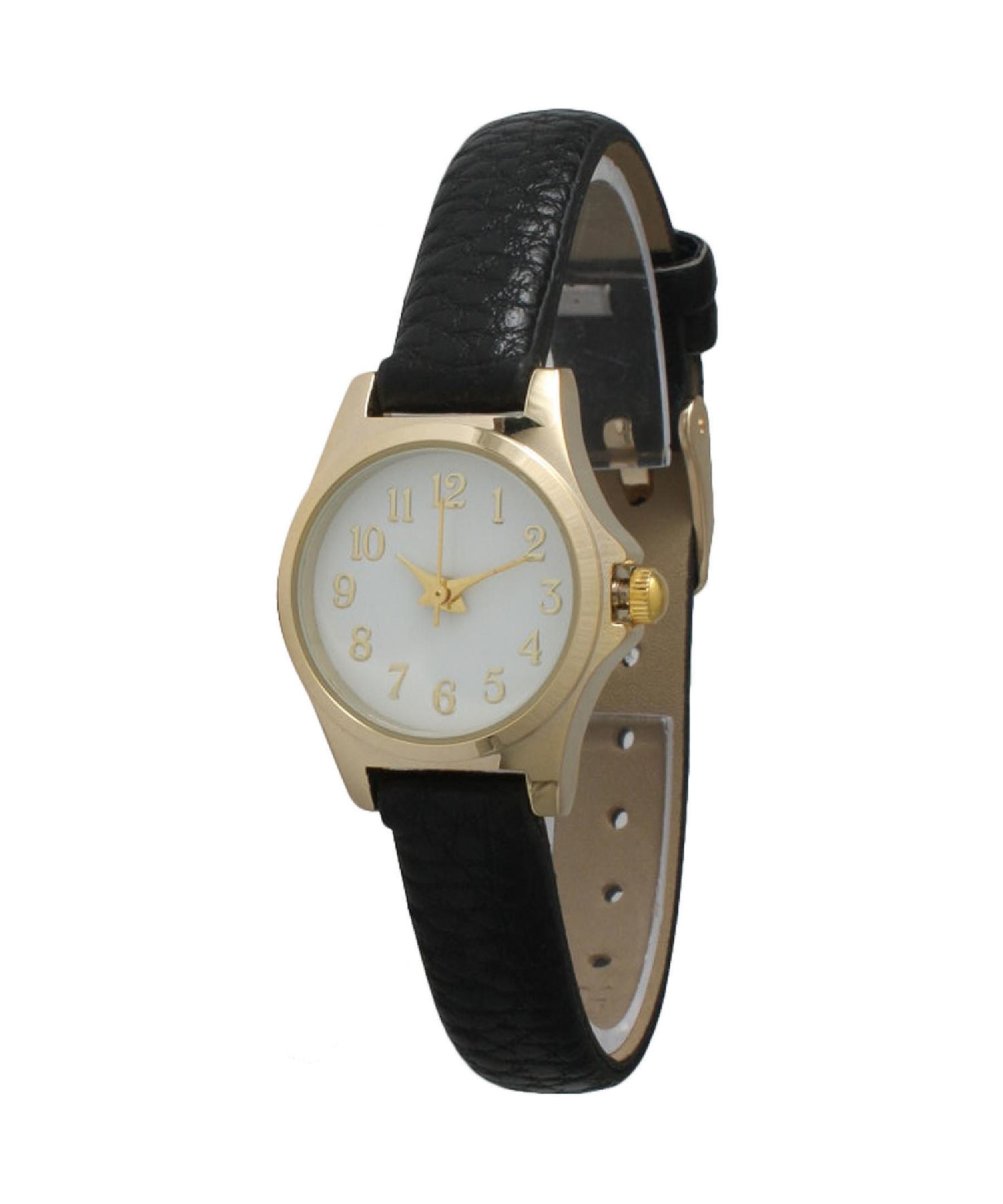 Olivia pratt Petite Vintage Style Women's Watch in Black ...