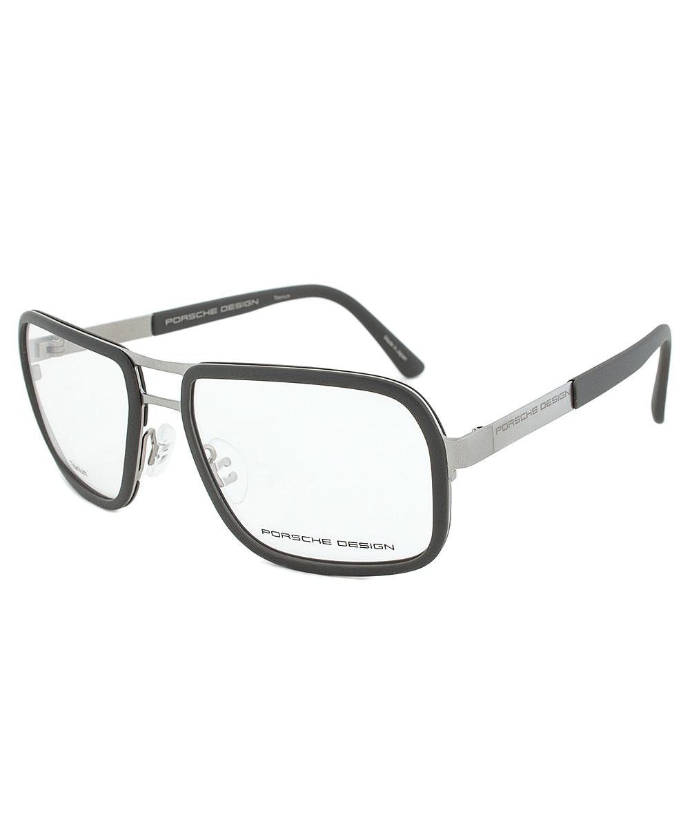 porsche design design p8219 eyeglass frames in gray lyst