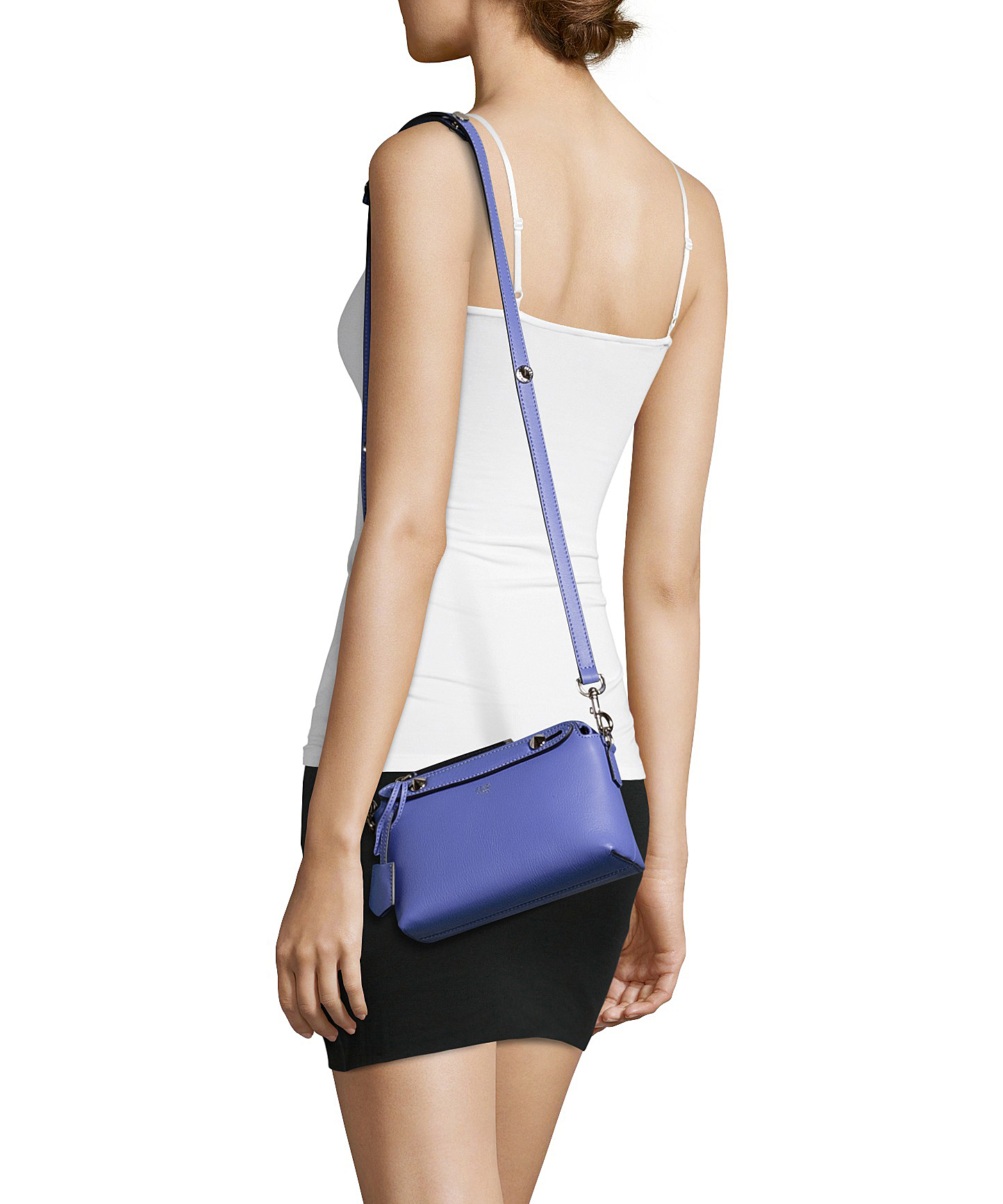 ... cheap lyst fendi lilac leather by the way mini shoulder bag in purple  77b78 07b07 244ff05d41914
