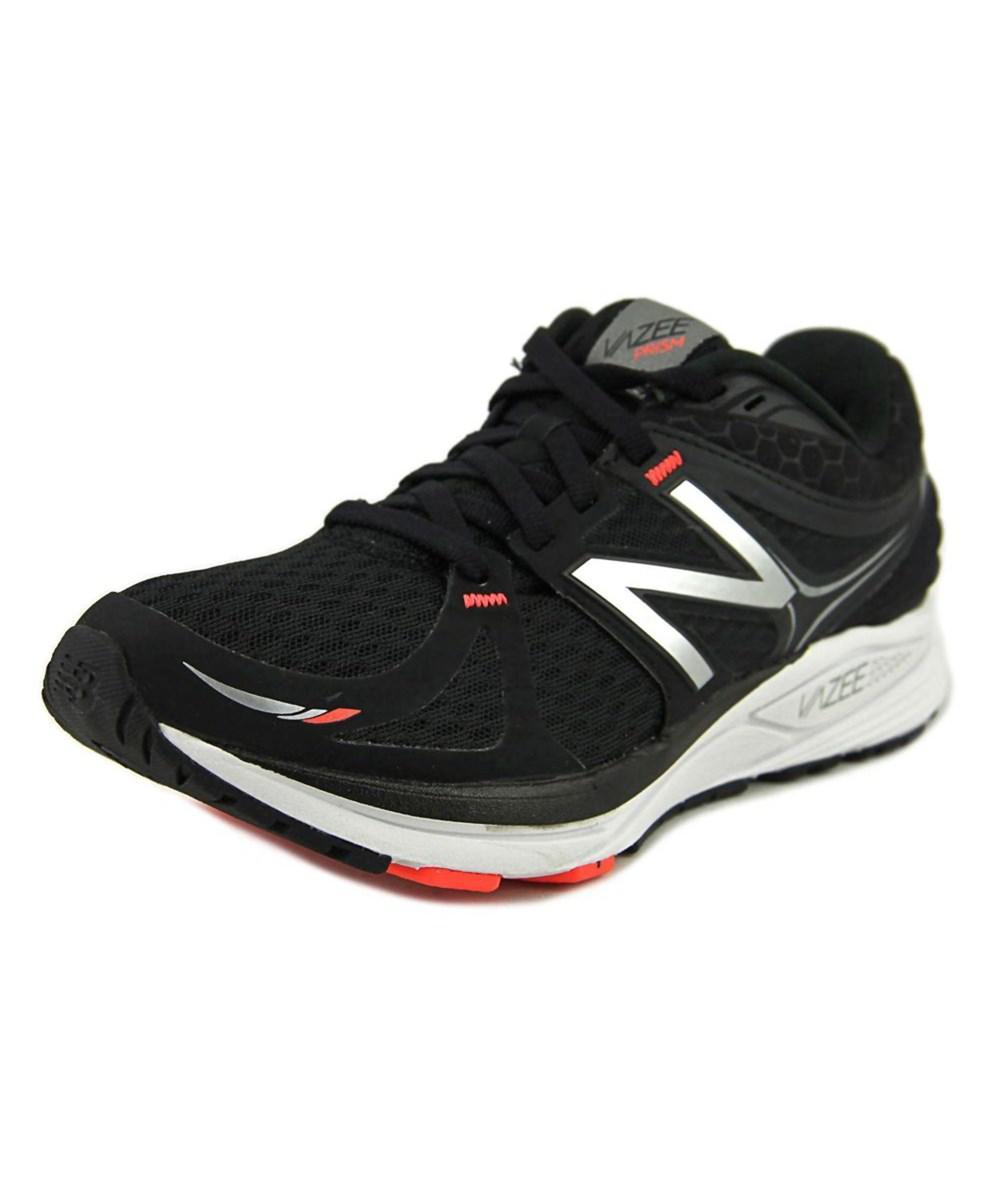 495661d41e7 Lyst - New balance Mprsm Women Round Toe Synthetic Black Running ...