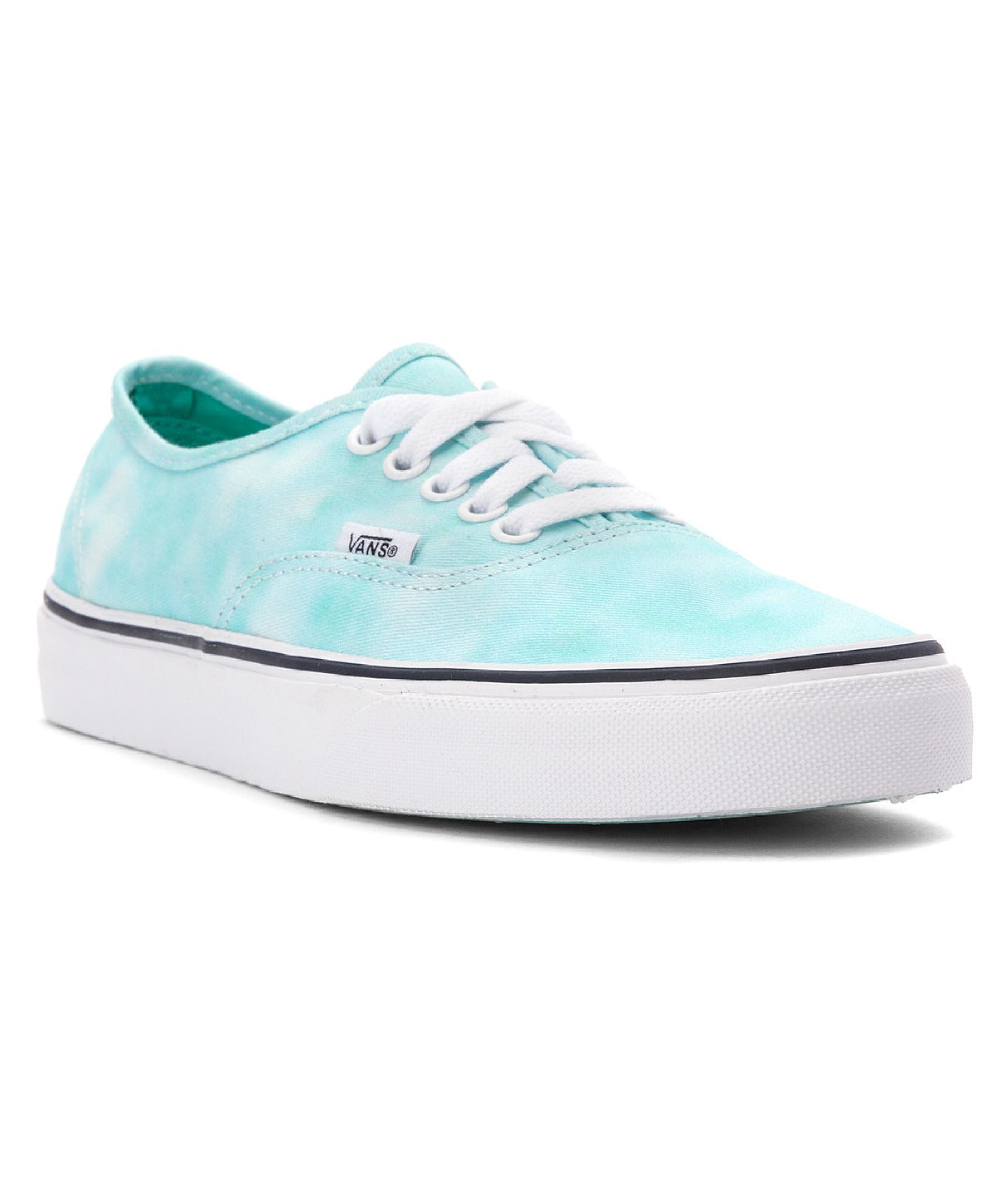 ee6b07f168 Lyst - Vans Women s Authenticâ¿ Skateboarding Shoes in Blue