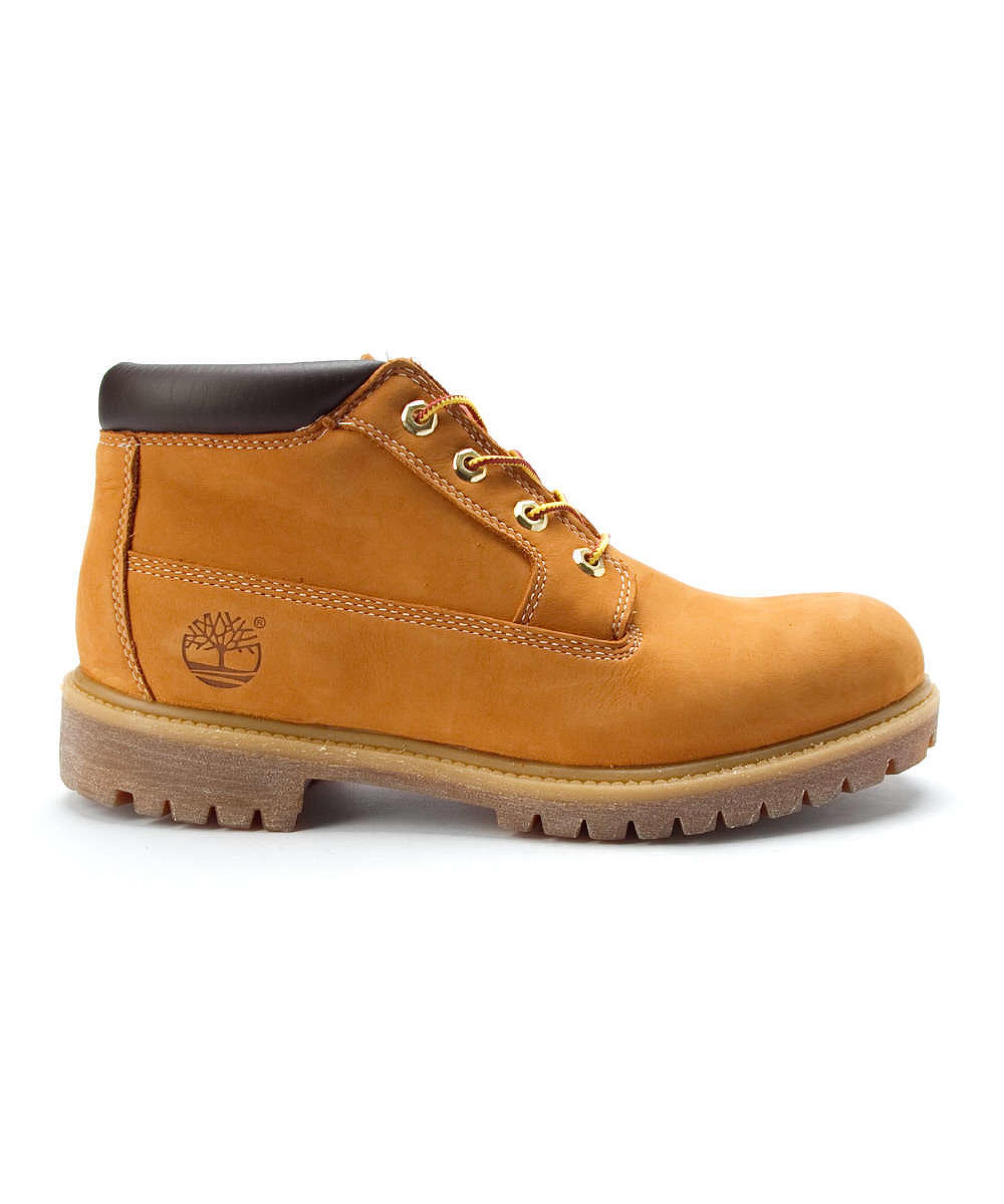 Timberland Men's Premium Waterproof Chukka Boots in Beige ...