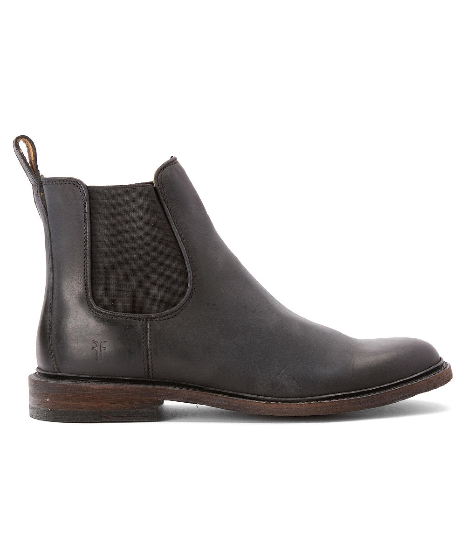 frye men 39 s james chelsea boots in brown for men cognac. Black Bedroom Furniture Sets. Home Design Ideas