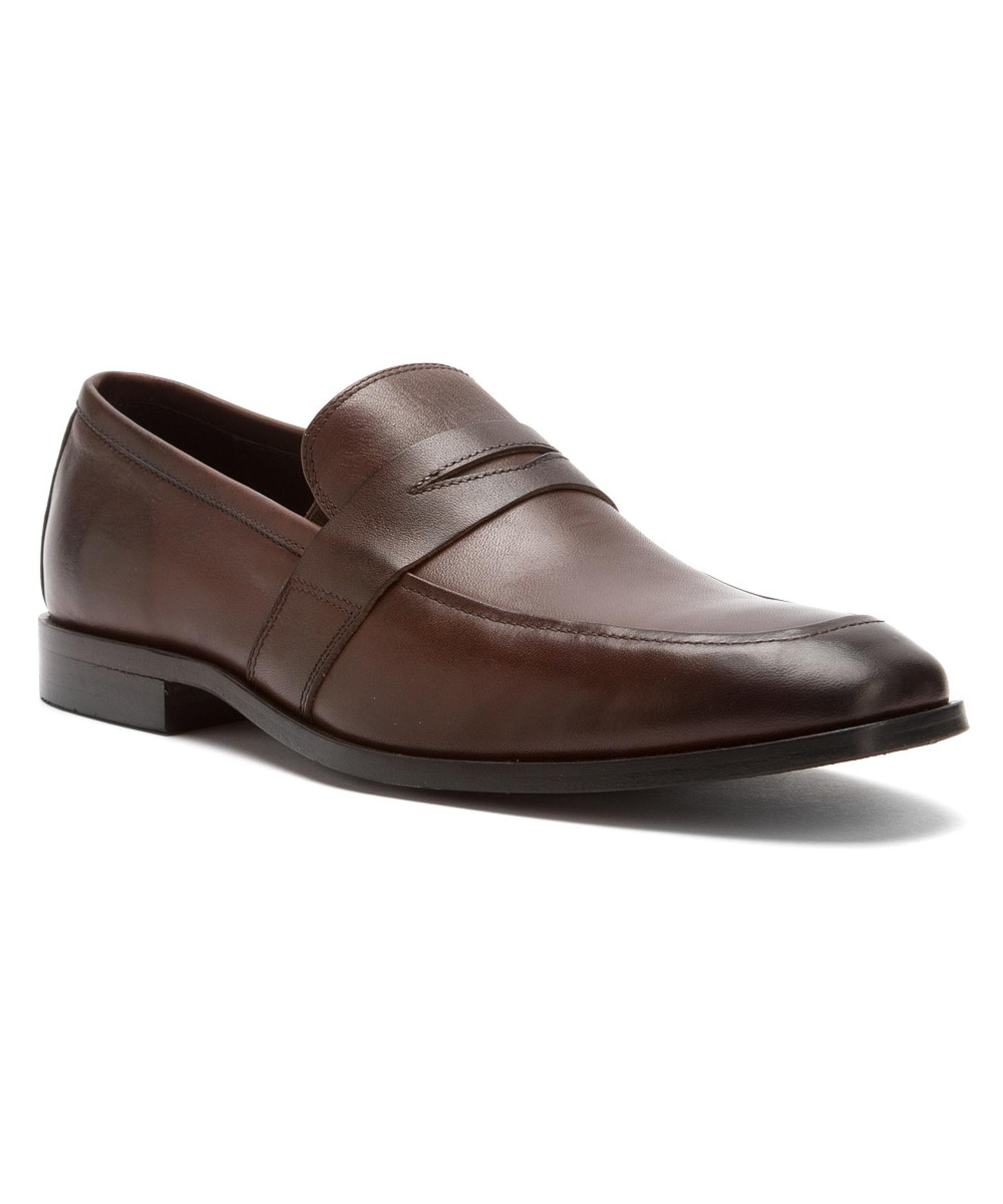 Florsheim Brown Mens Jet Penny Loafer Moc Loafers