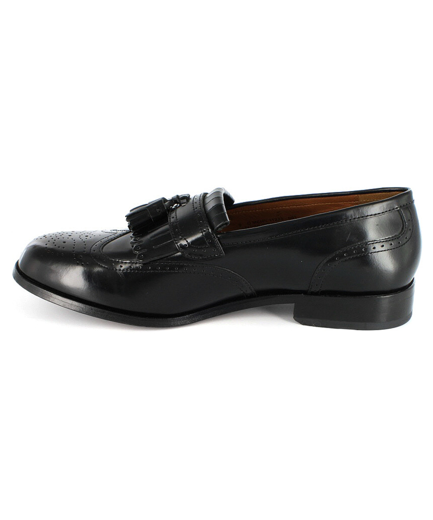florsheim s brinson loafers shoes in black for