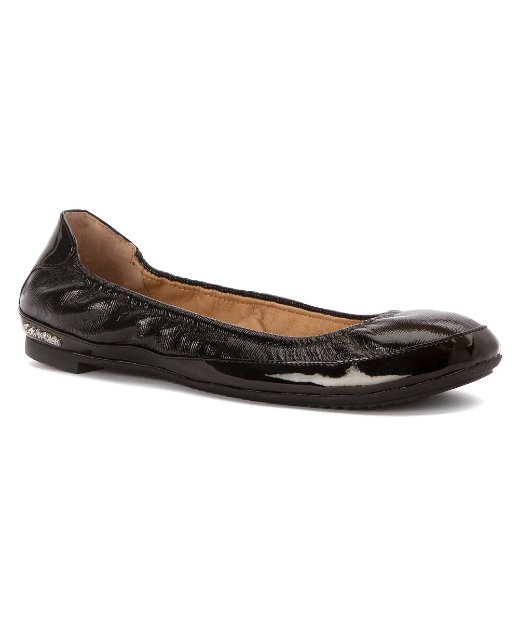 Calvin Klein Womenu0026#39;s Anabelle Flats Shoes In Black | Lyst