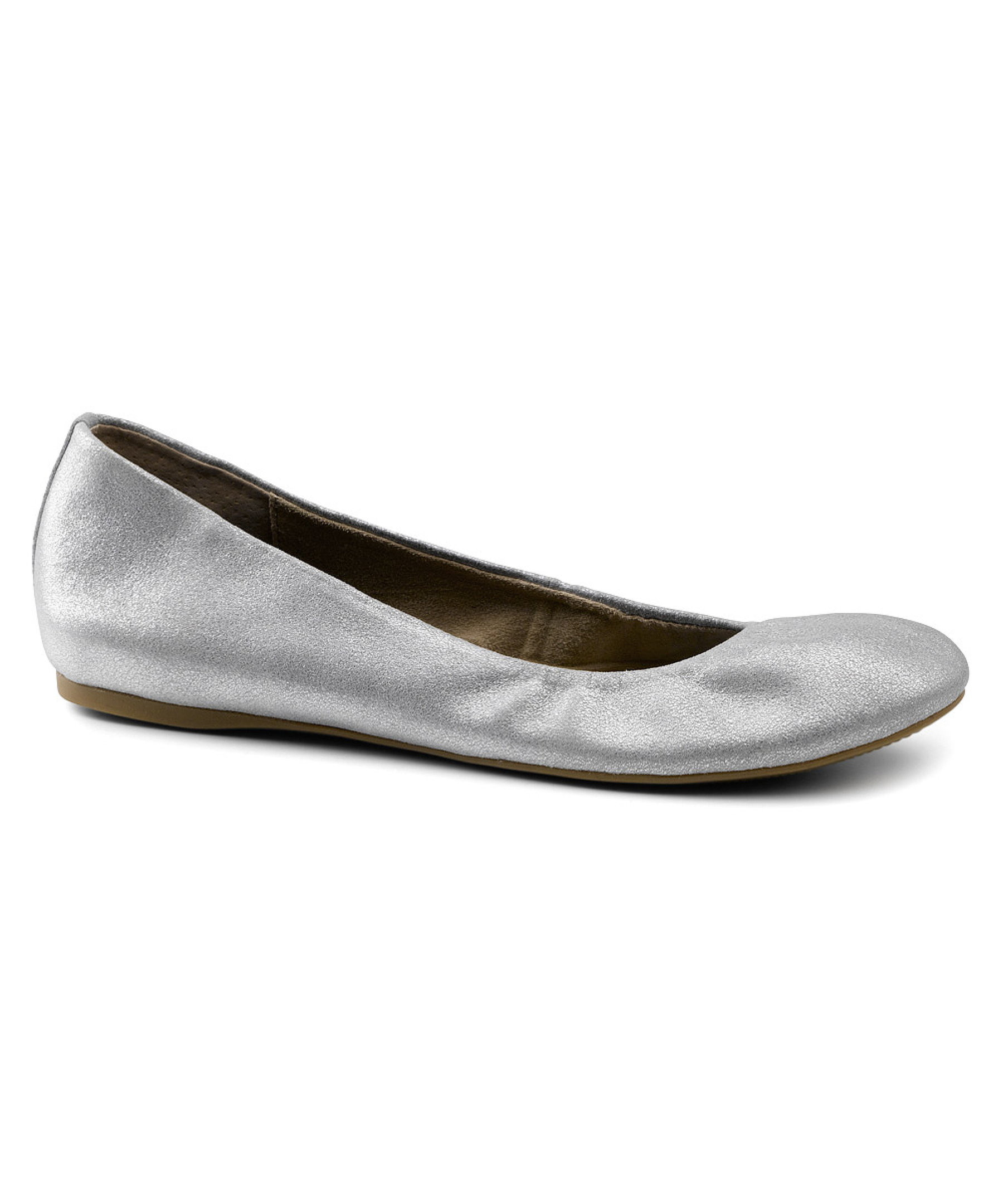 G.h. bass & co. Women's Felicity Flats Shoes in Silver | Lyst