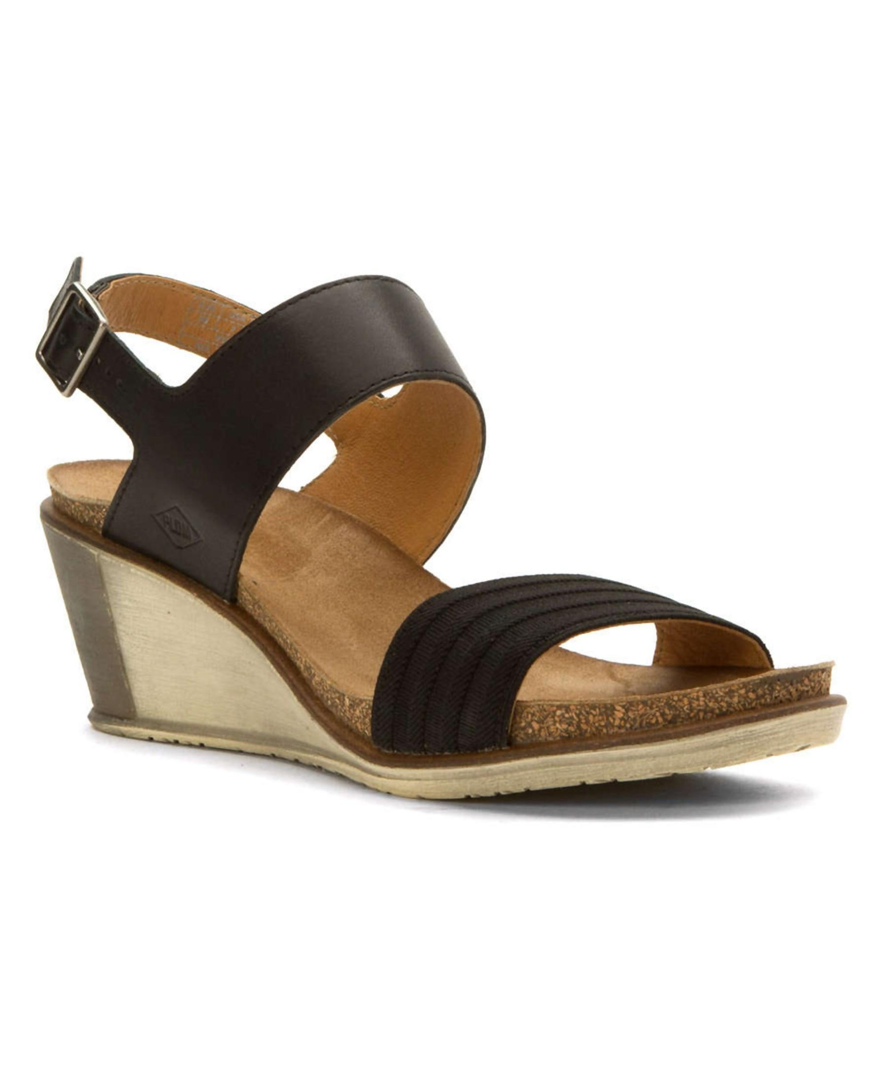 Palladium Women S Sheldon Vgt Sandals In Black Lyst