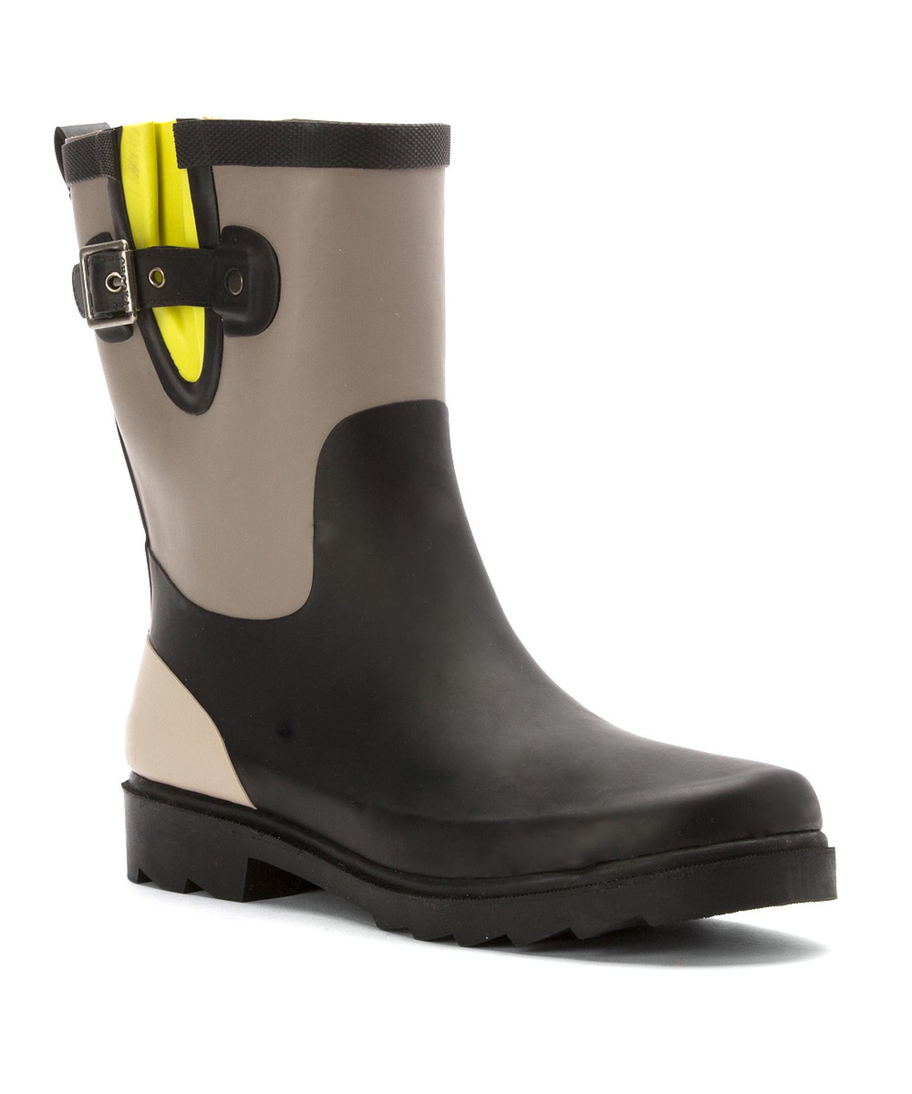 Wonderful Chooka Women39s Classy Dot Rain Boots  Boots