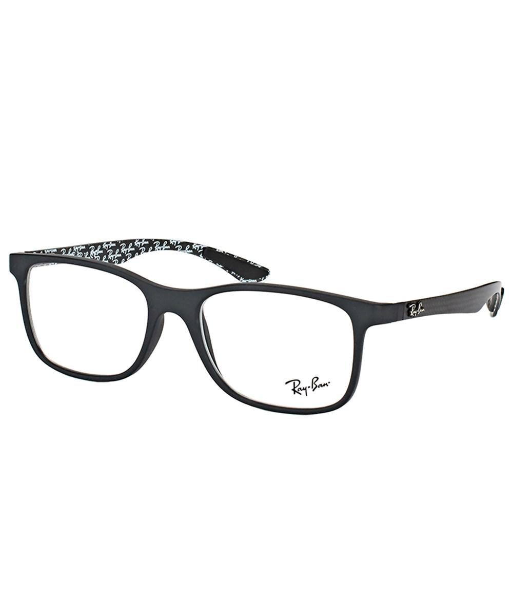 565e34e2c0 Ray-Ban Rx8903 5263 55mm Matte Black Square Eyeglasses in Black - Lyst