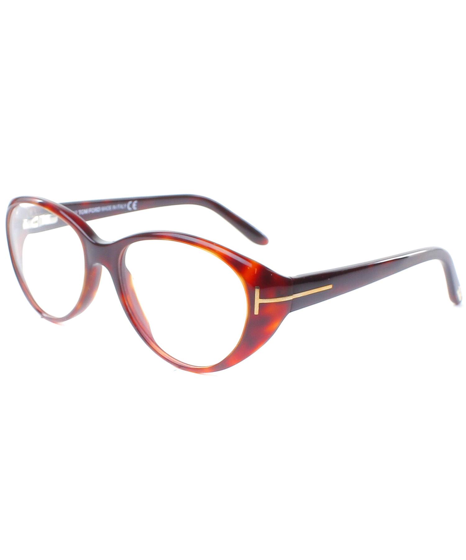 Tom ford Cat-eye Plastic Eyeglasses in Red Lyst