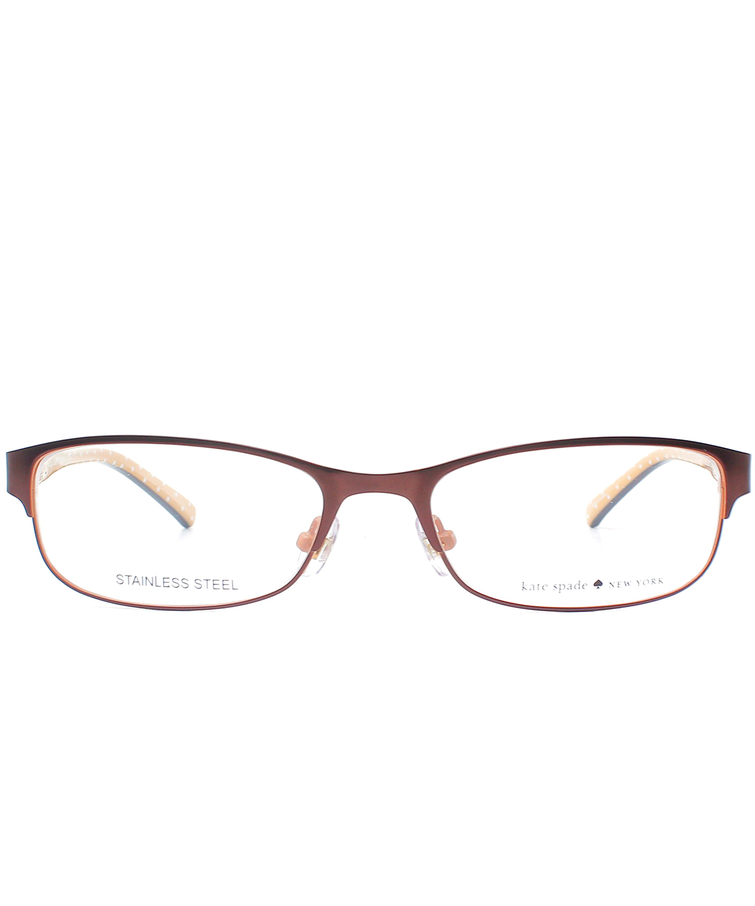 Kate Spade New York Eyeglass Frames : Kate spade new york Rectangle Metal Eyeglasses in Black Lyst