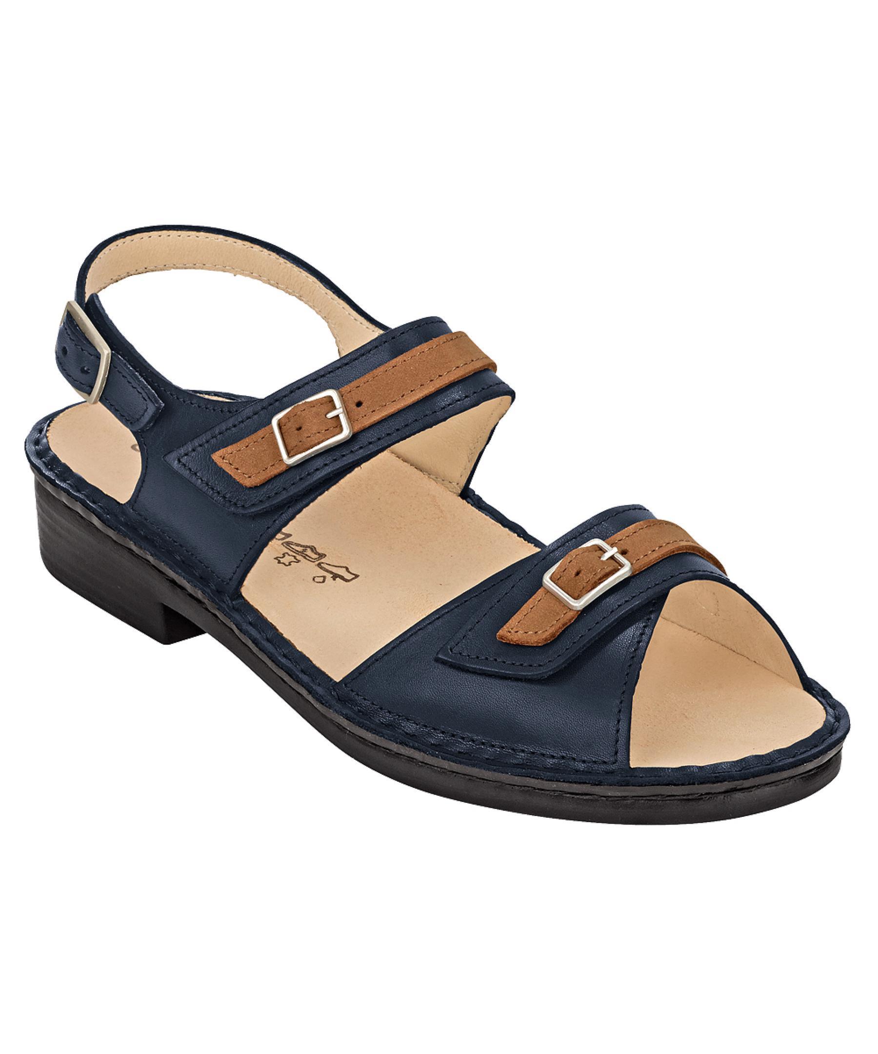 Finn Comfort Women S Sasso Sandals In Blue Lyst