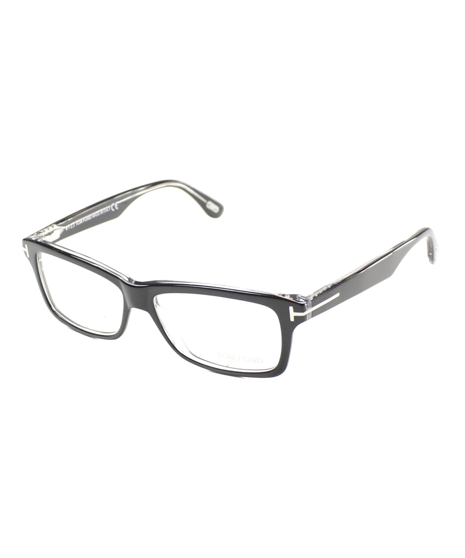 tom ford rectangle plastic eyeglasses in black lyst. Black Bedroom Furniture Sets. Home Design Ideas