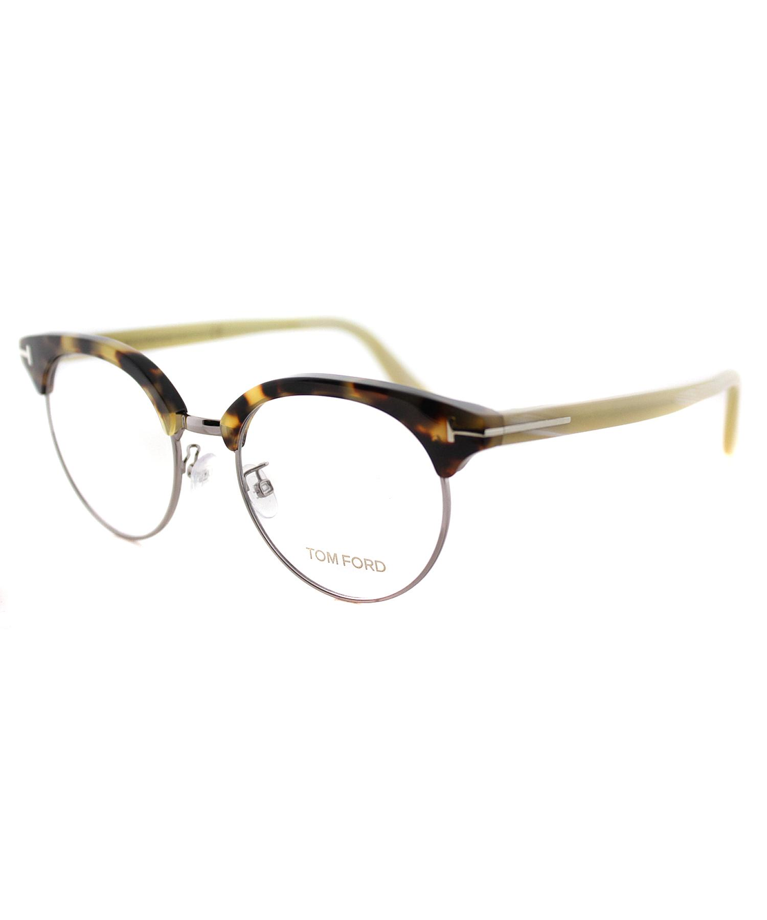 7ada90bf475 Lyst - Tom Ford Round Plastic Eyeglasses