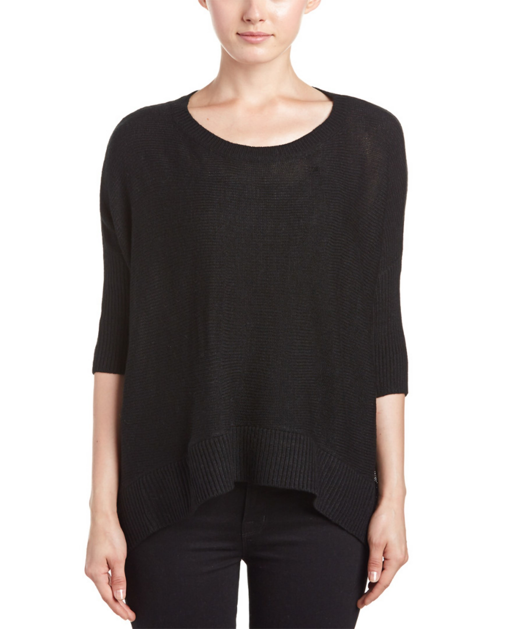 Lulus Exclusive! Get comfy-cute with the Lulus Greyson Black Long Dolman Sleeve Henley Top! Soft stretchy knit forms a perfectly relaxed bodice (with side notches), a wide V-neckline, a half button placket, and long dolman sleeves.4/5(2).