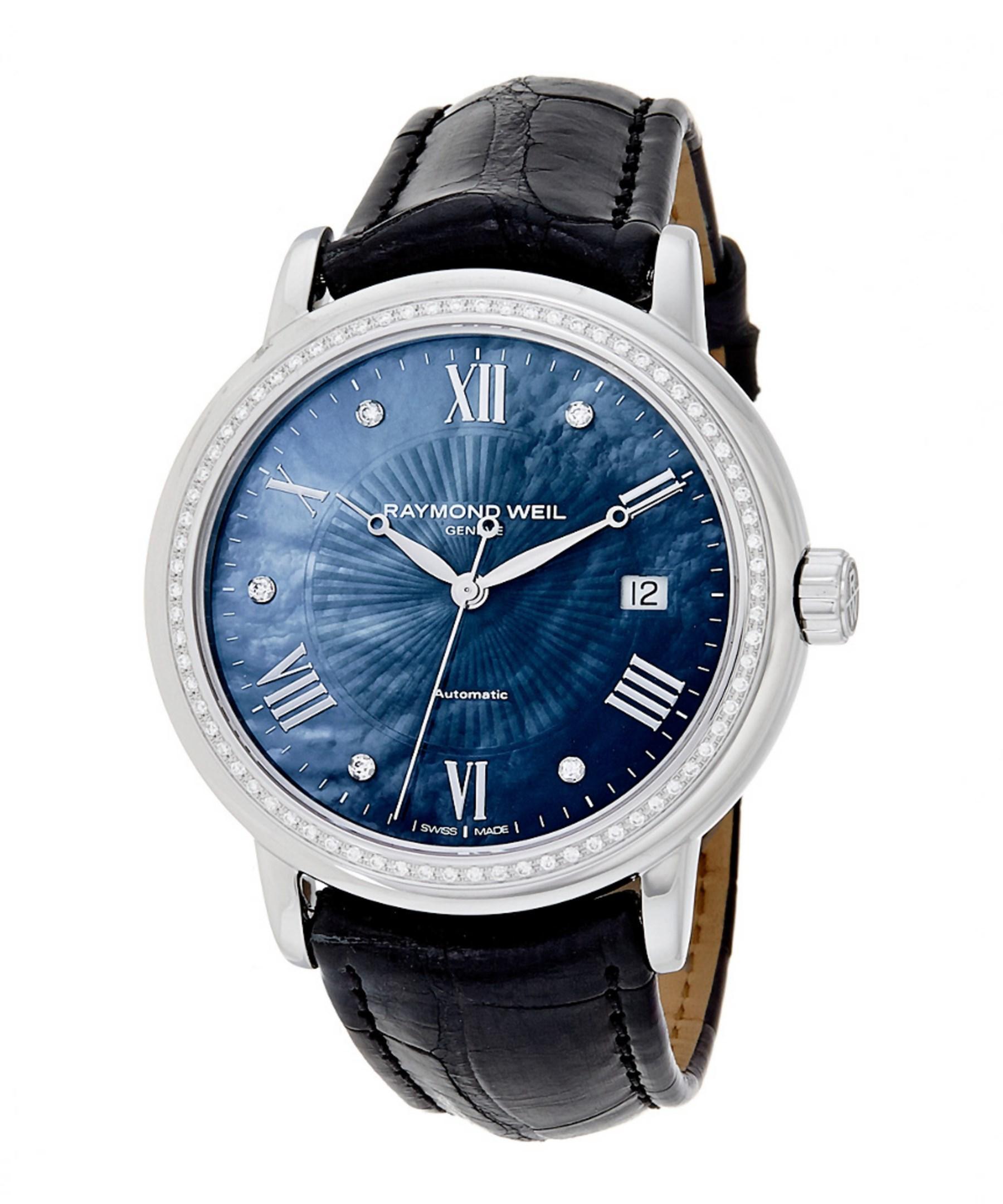 Lyst - Raymond Weil Women s Maestro Diamond Watch ad0d6e1a0d