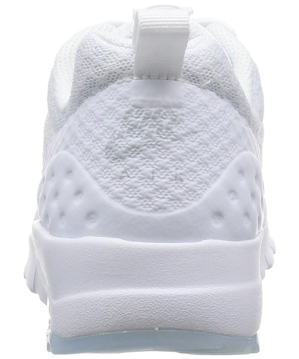 purchase cheap 84cd5 7dbf9 Nike. White Womens Air Max Motion Lw Fabric Low Top Lace Up Running Sneaker