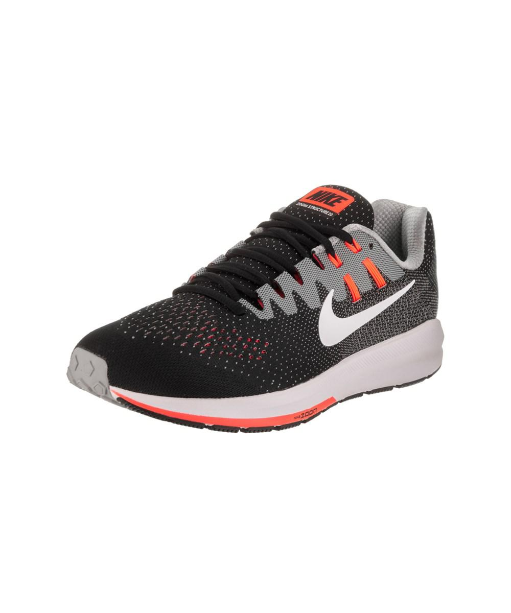 da1ca8545404d Lyst - Nike Men s Air Zoom Structure 20 Running Shoe in Black for Men