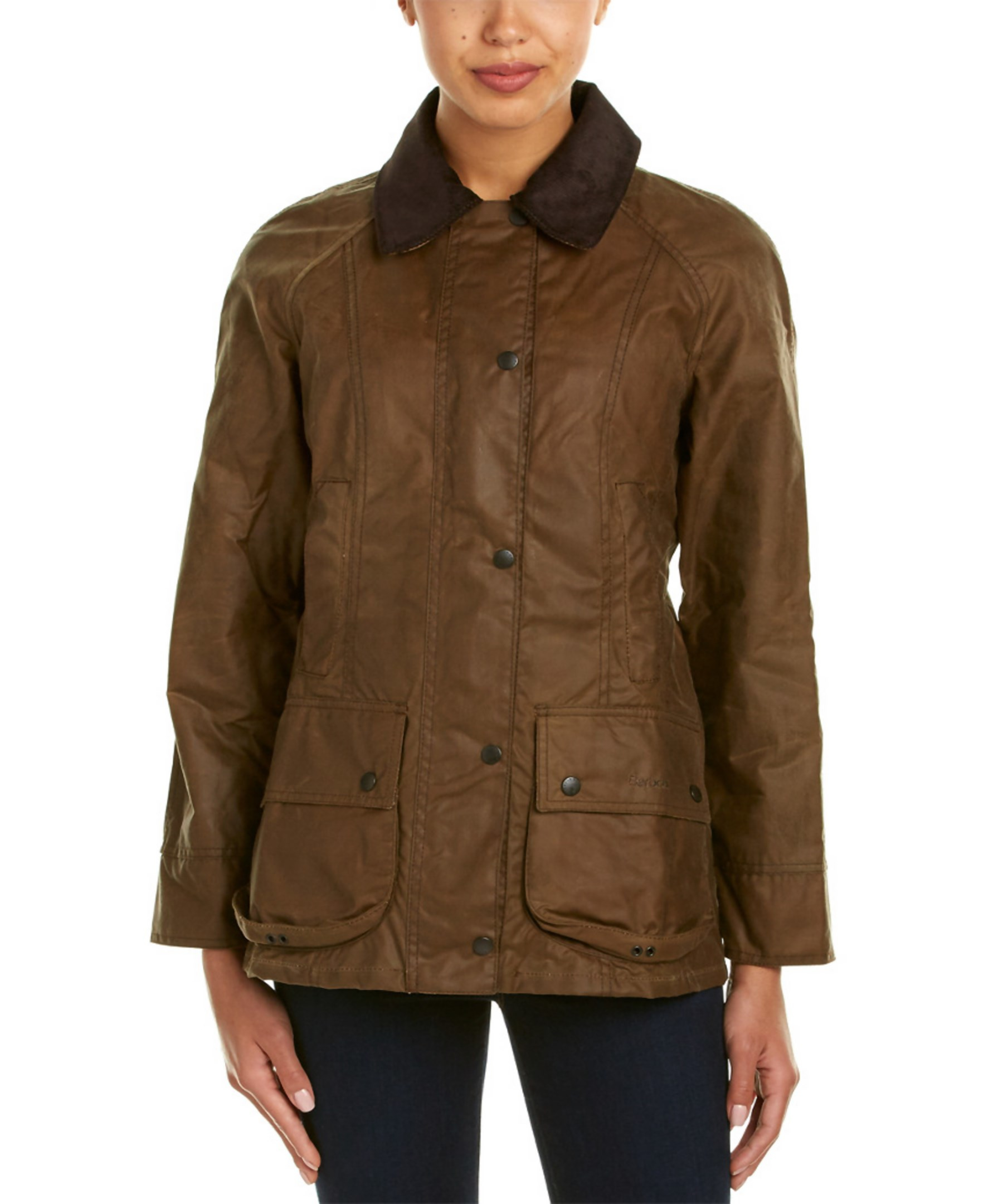 Barbour Beadnell Wax Jacket In Brown Save 27 Lyst