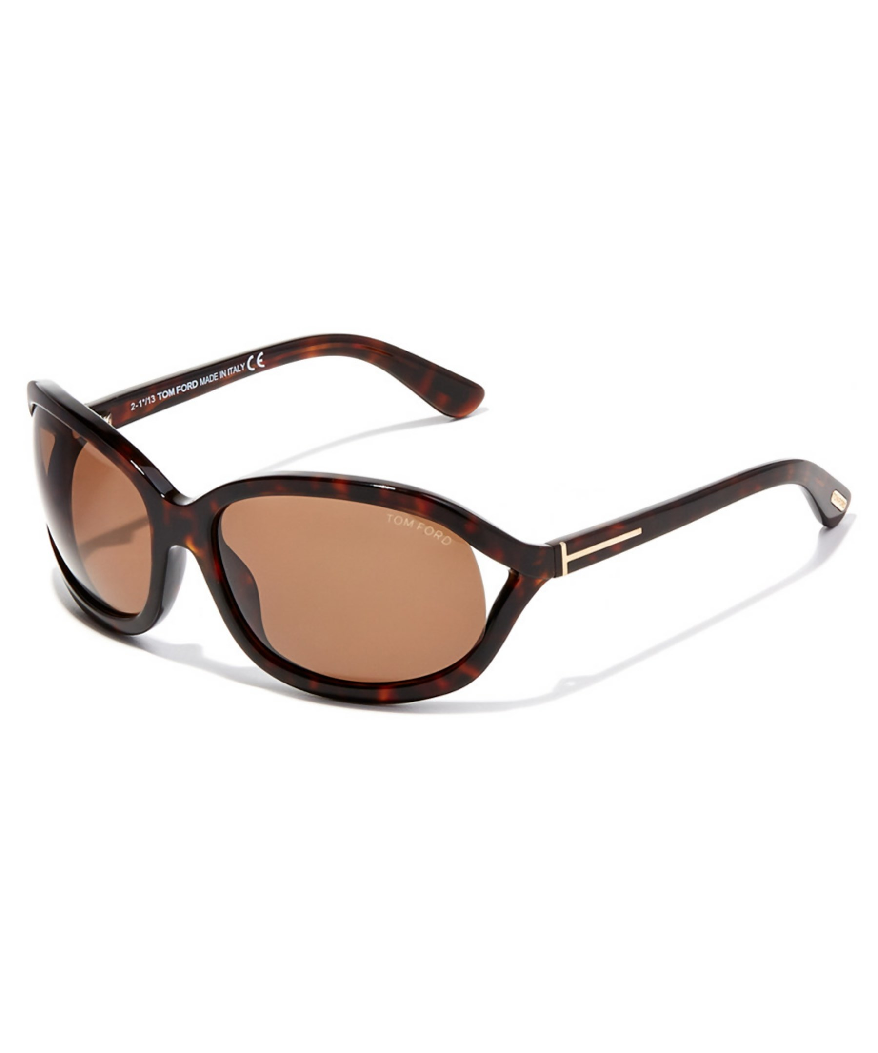 tom ford s vivienne sunglasses in brown lyst