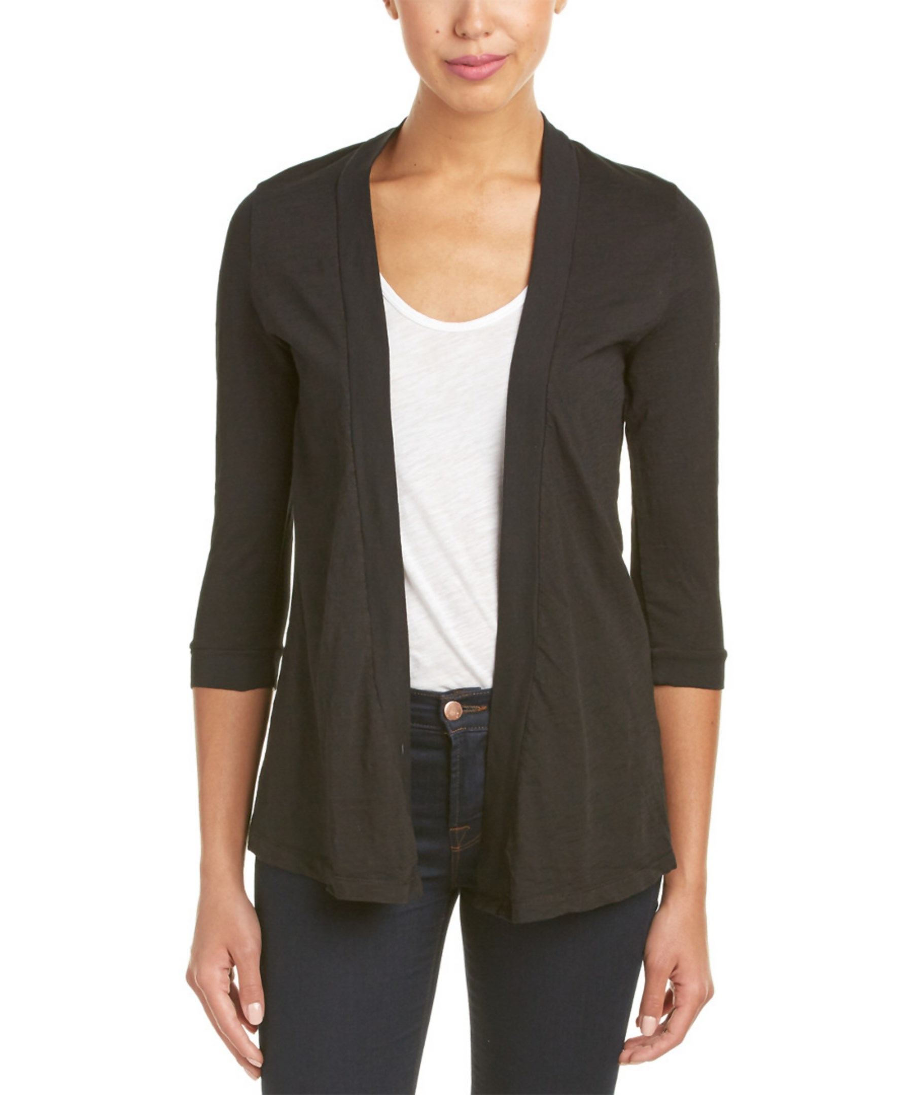 zip neck 3 4 sleeve sweater dress and Calvin Klein Black items found.