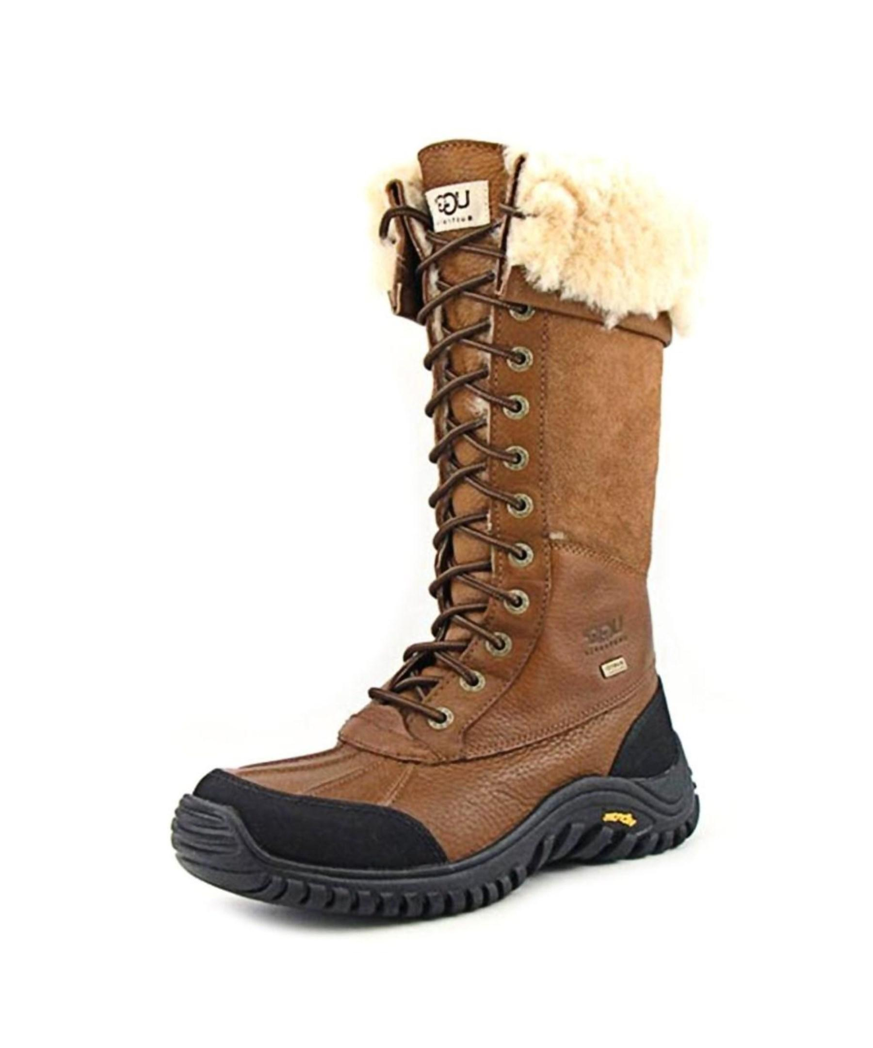 how to clean ugg adirondack boots