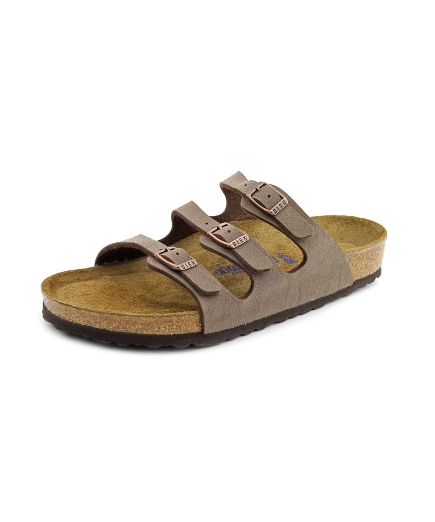 birkenstock florida open toe leather slides sandal in. Black Bedroom Furniture Sets. Home Design Ideas