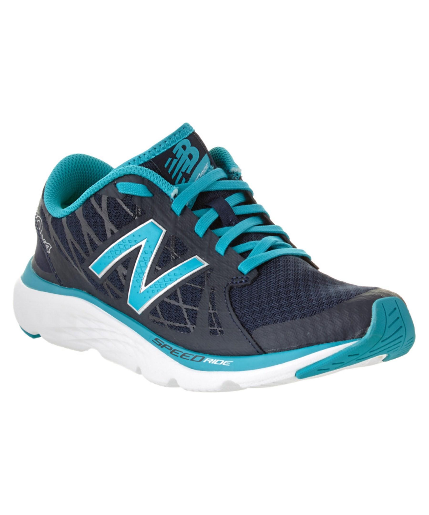 new balance womens 690v4 running shoe in blue lyst