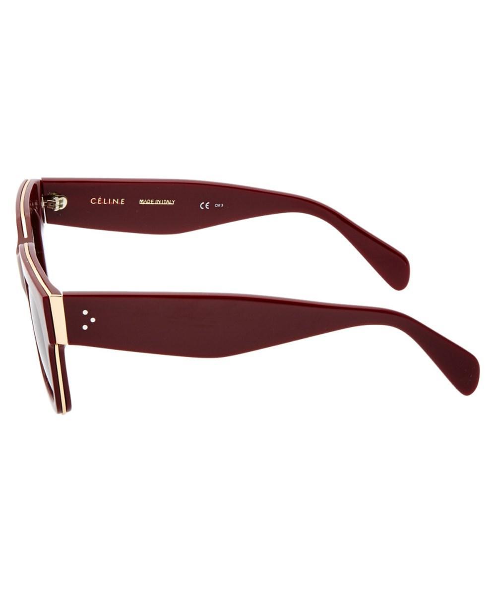 a9ac05dcc997 Lyst - Céline Women s 41097 s Sunglasses in Red