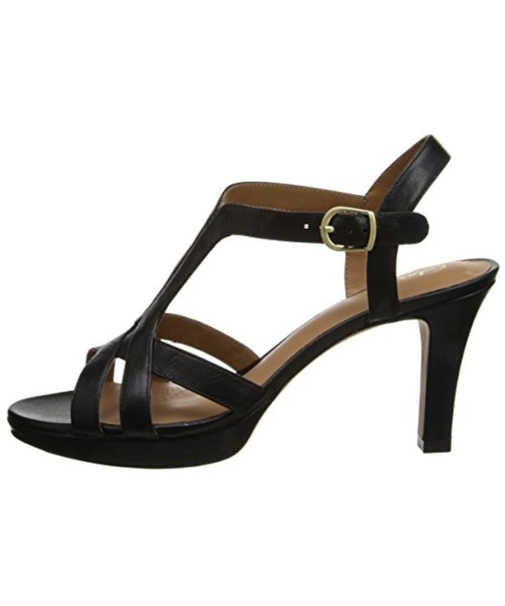 6f0dc9e70488 Lyst - Clarks Women s Delsie Risa Dress Sandal in Black