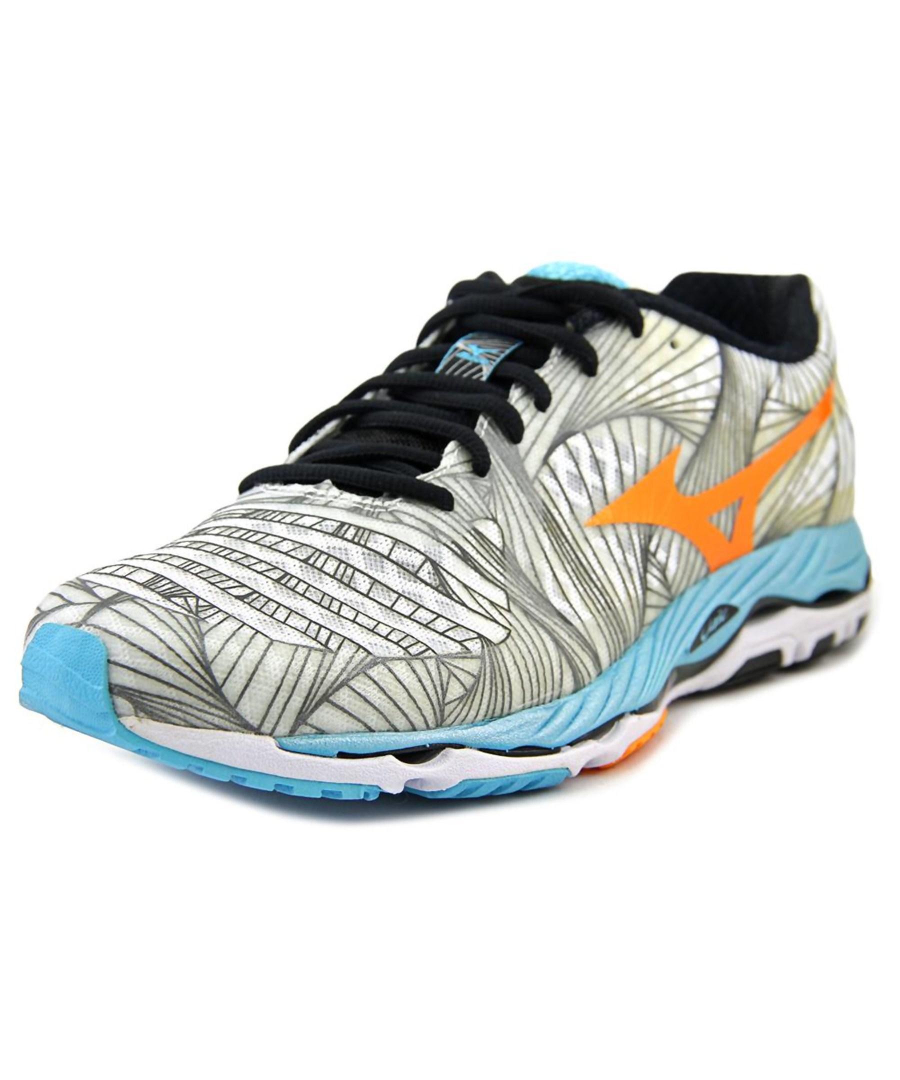 aba354ff57fa Lyst - Mizuno Wave Paradox Women W Round Toe Synthetic Gray Sneakers ...