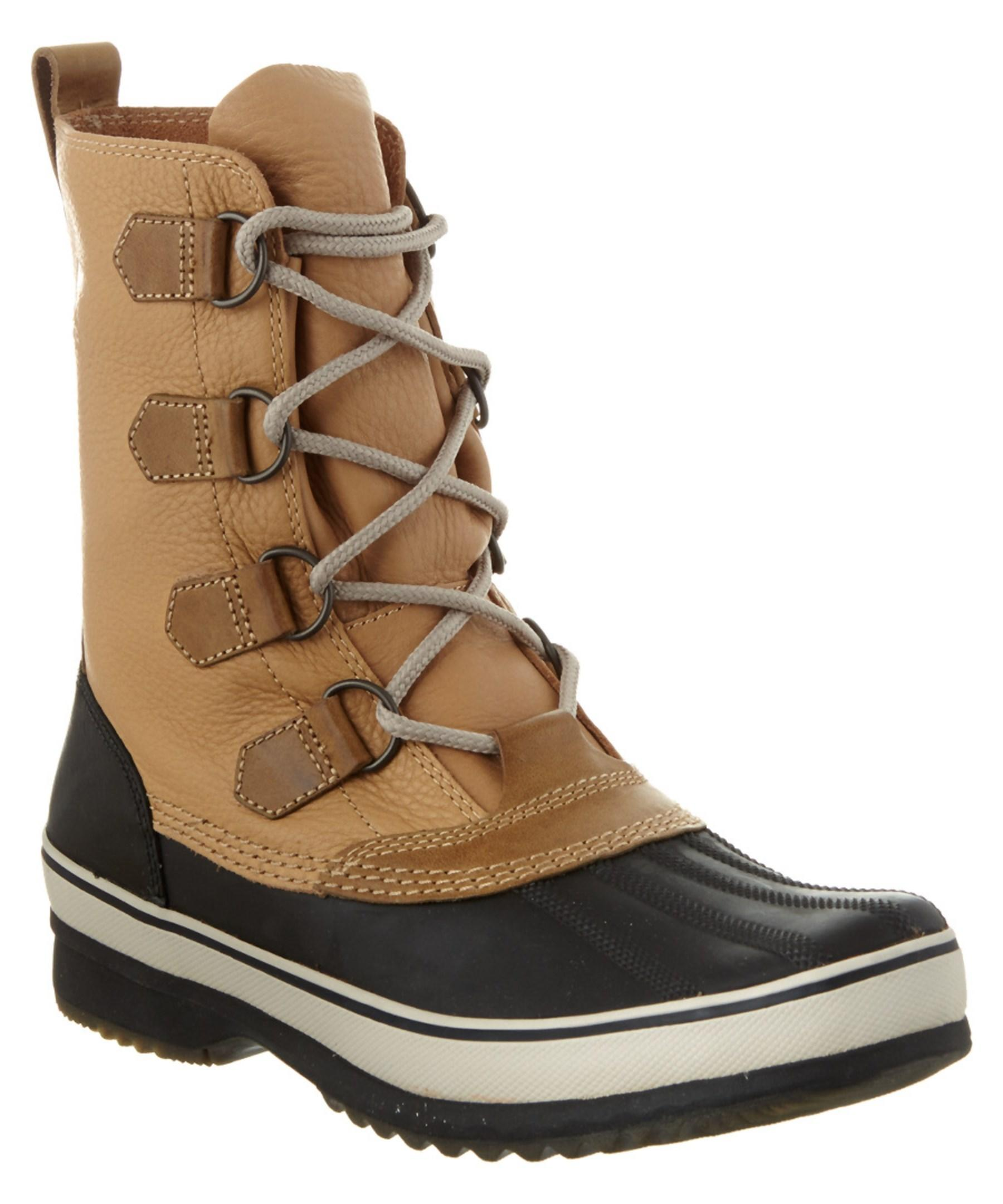 Sorel Mens Caribou Waterproof Leather Boot For Men Lyst