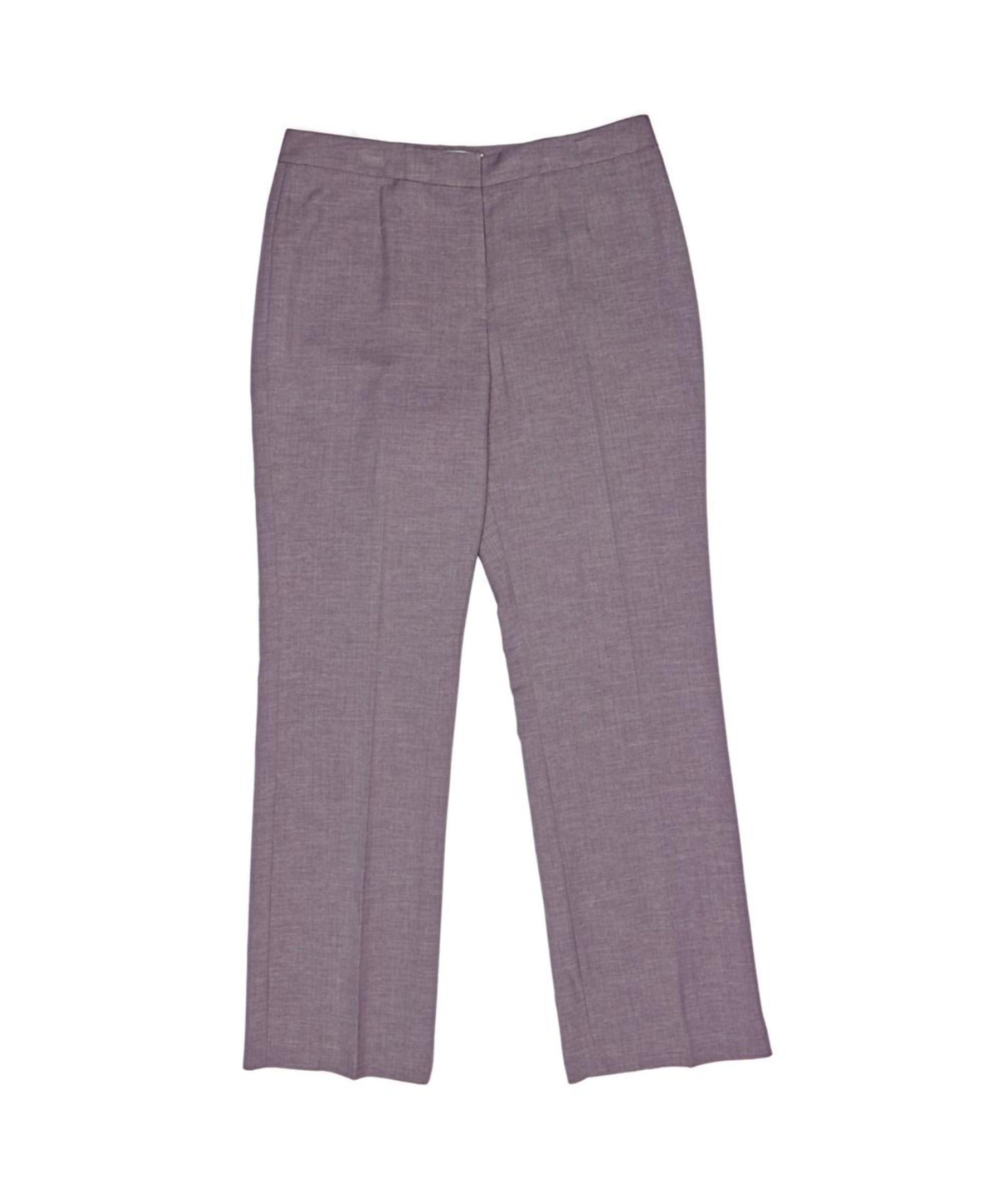 Model Reiss Nell Arc Tailored Trousers In Gray  Lyst