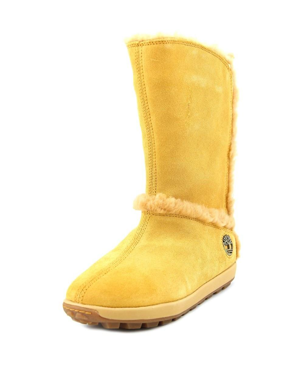 e4815daa2077d0 Lyst - Timberland Mukluk Pull-on Fur W Round Toe Suede Mid Calf Boot ...