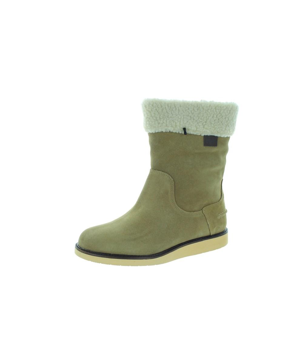 lyst lacoste womens ansell 2 srw boot in brown