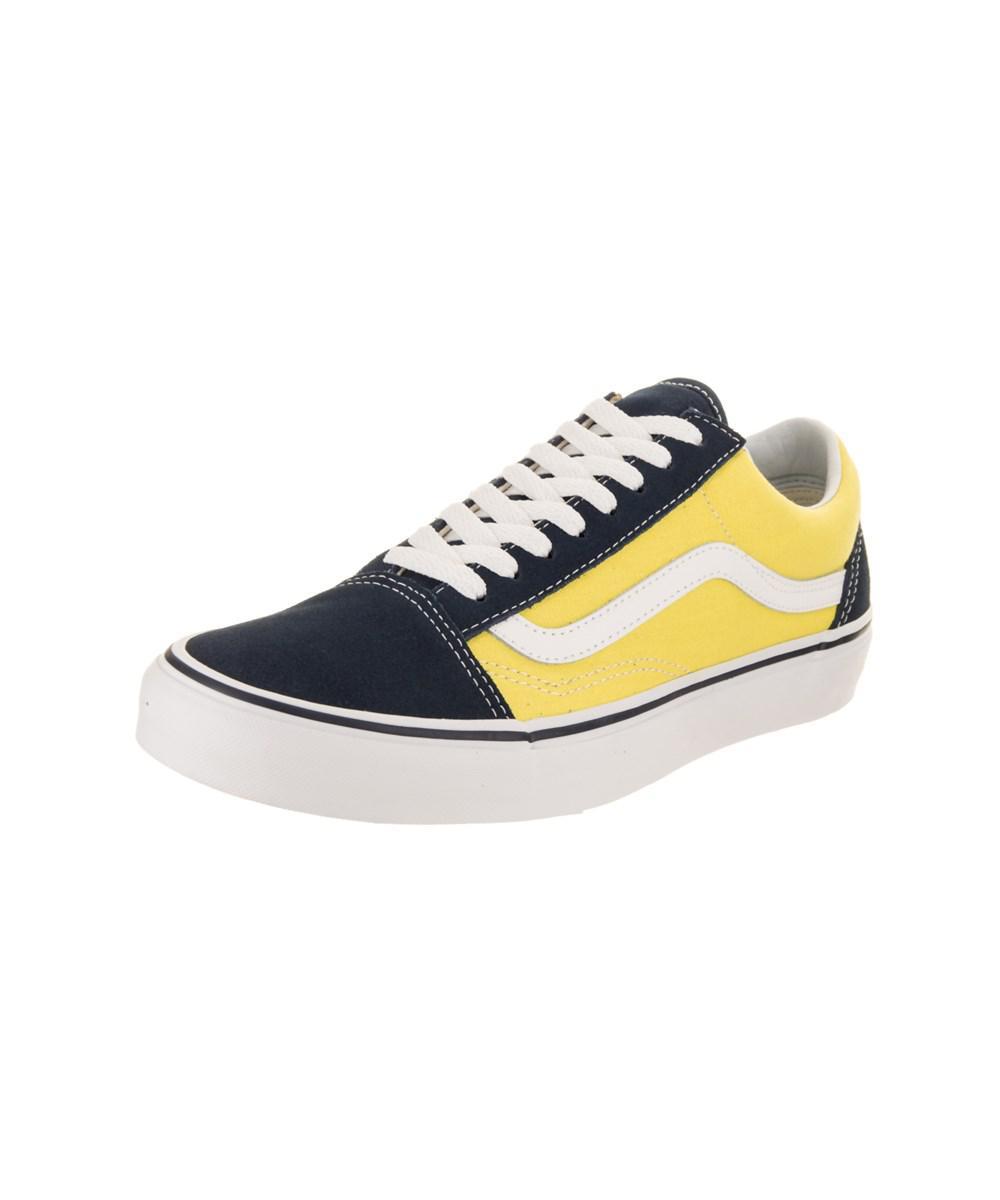 f635d43544 Lyst - Vans Unisex Old Skool (suede canvas) Skate Shoe in Blue for Men