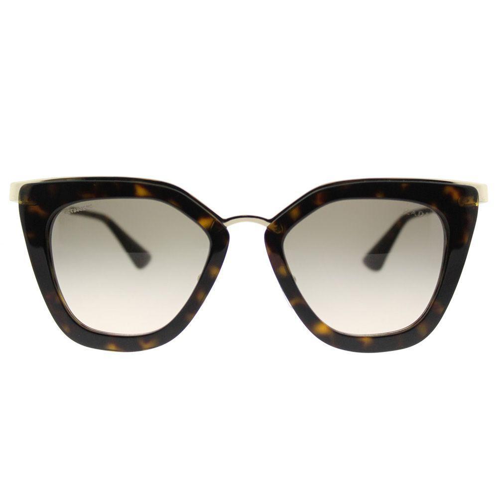 b67aa6435f10 Sunglasses Brand New Prada Sunglasses PR 53SS 2AU 3D0 Havana Brown Gradient  Women
