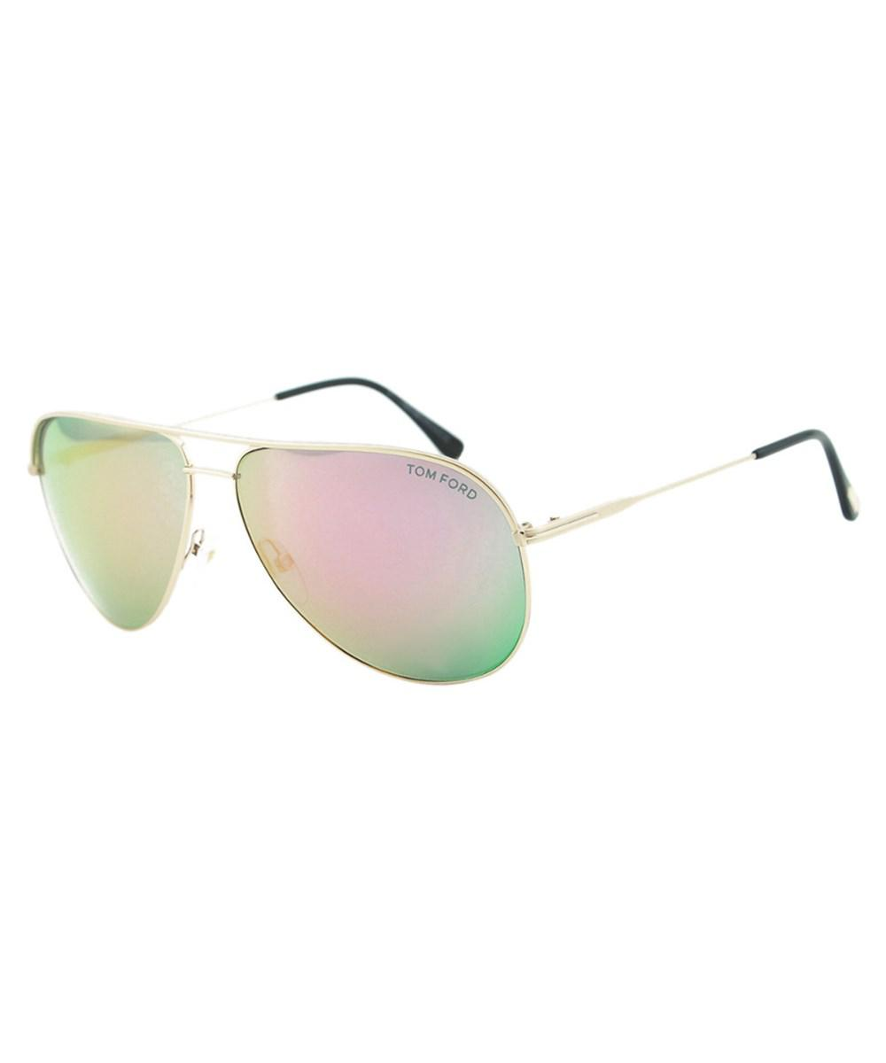 d41be4f1eb Lyst - Tom Ford Women s Erin 61mm Sunglasses in Metallic
