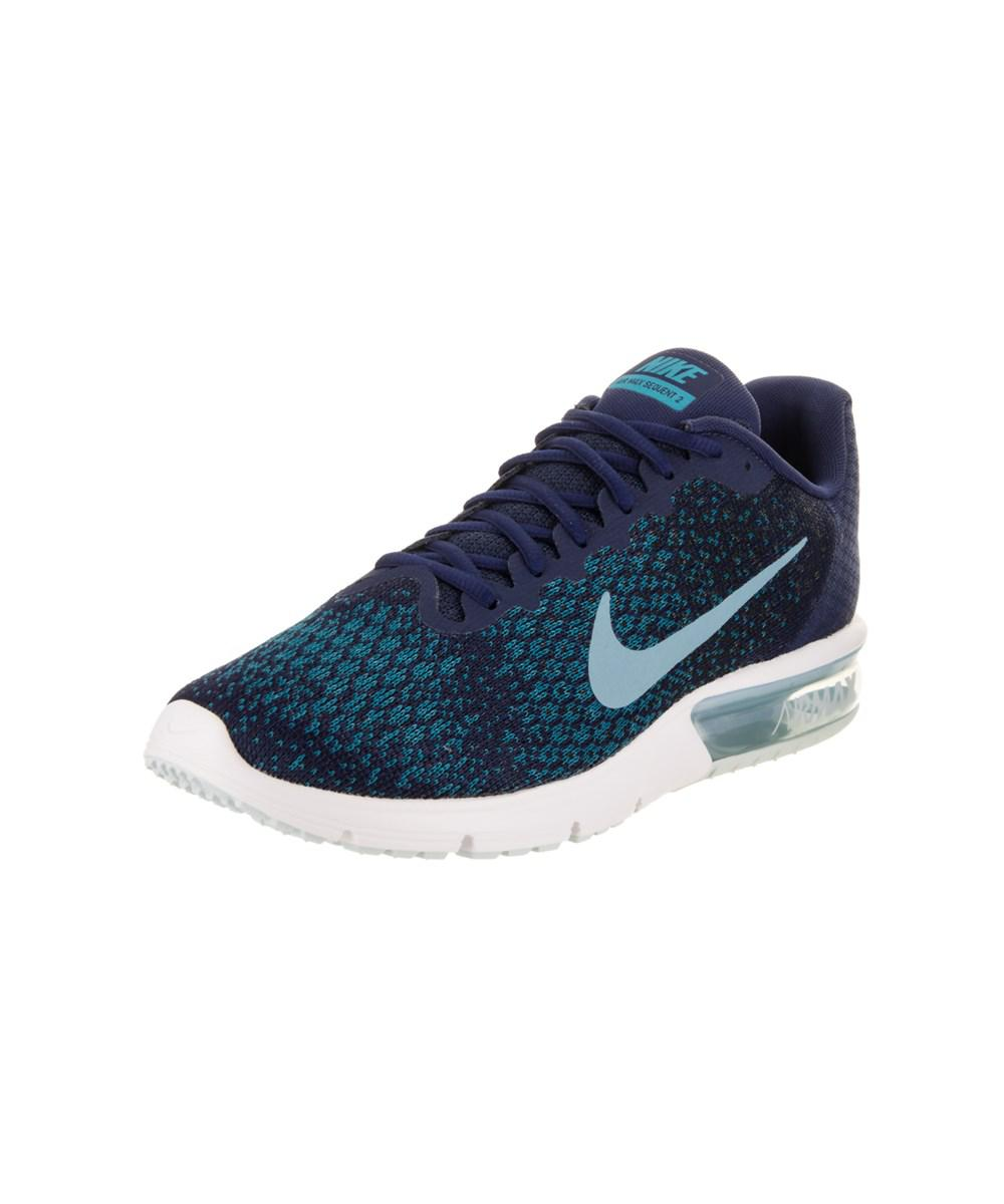 new products 9665c 1e6a1 Nike. Blue Men s Air Max Sequent 2 Running Shoe