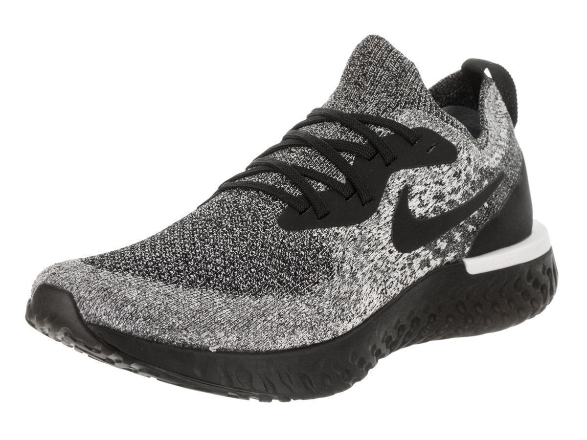 d16d35dea205 Lyst - Nike Men s Epic React Flyknit Running Shoe in Black for Men