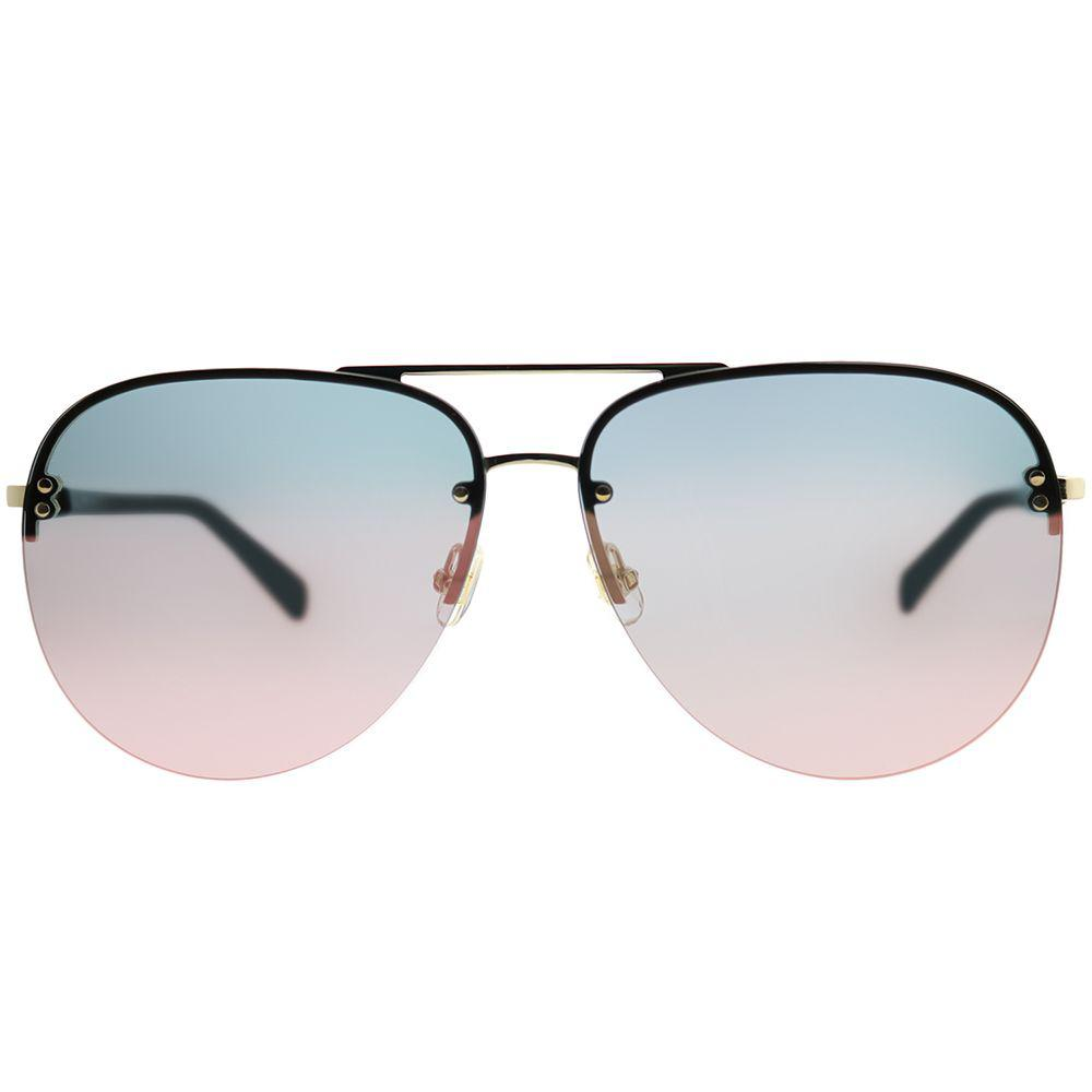 10c6c0a63b Kate Spade - Jakayla 807 0j Black Aviator Sunglasses - Lyst. View fullscreen