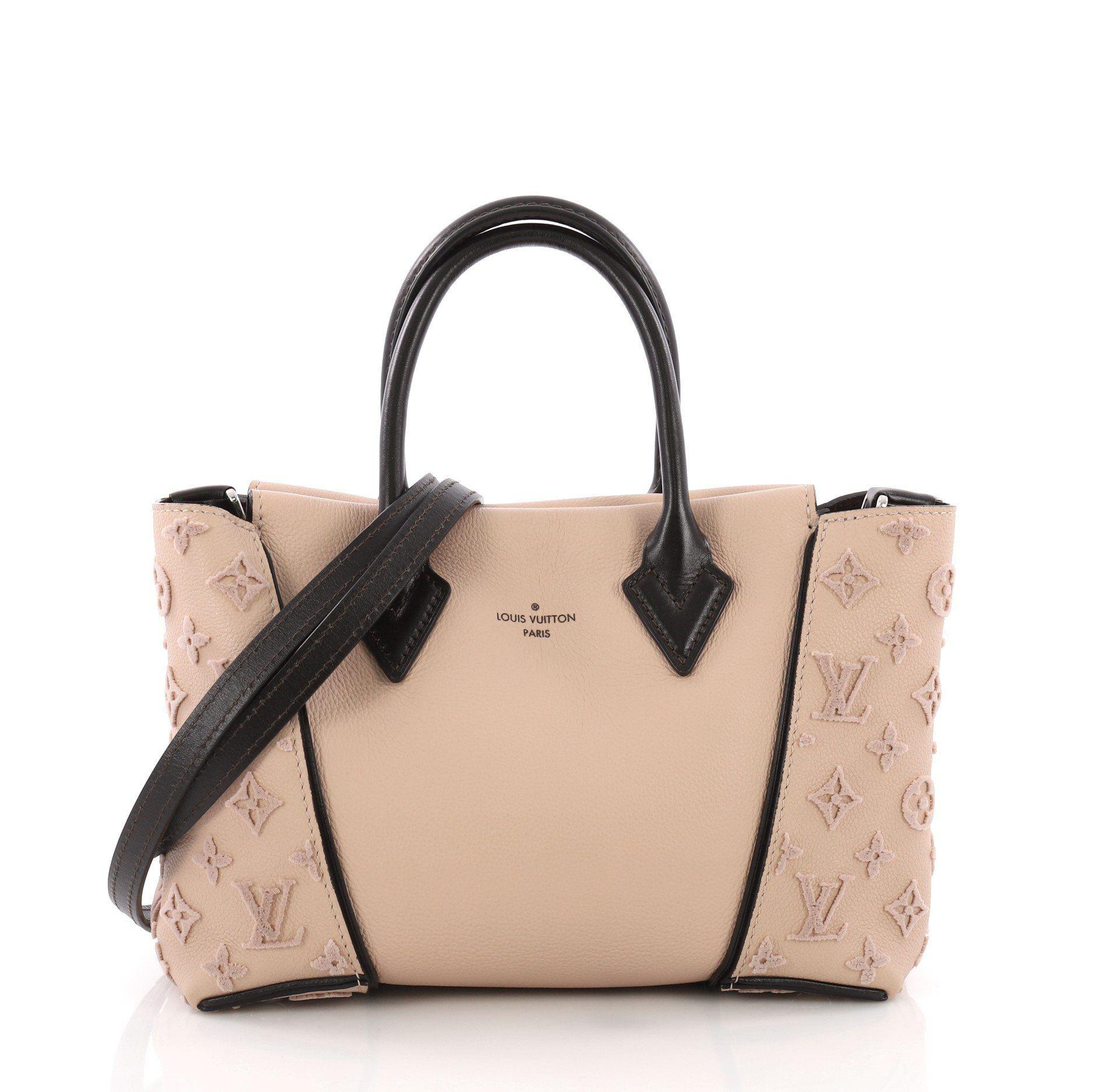 02d46ae0a8f0 Lyst - Louis Vuitton Pre Owned W Tote Veau Cachemire Calfskin Bb
