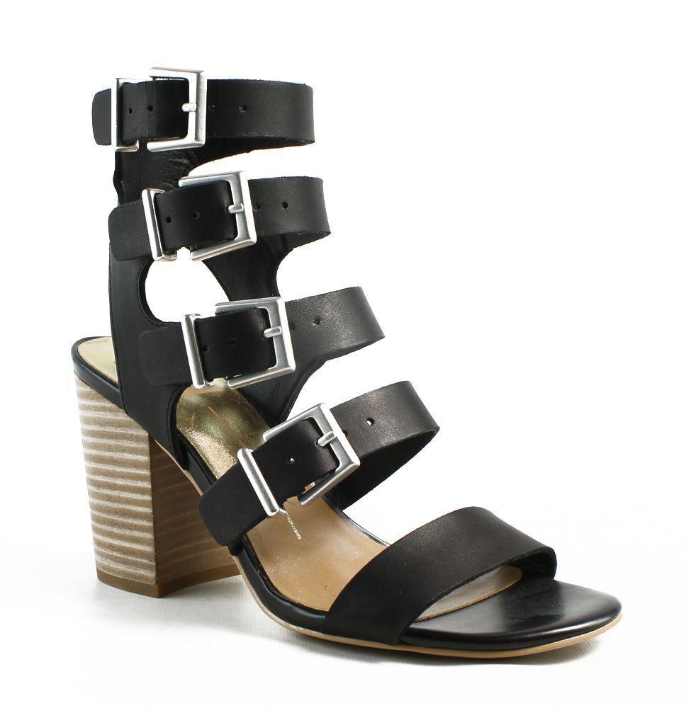 bbde6af0bc0 Lyst - Dolce Vita Womens Black Open Toe Heels in Black