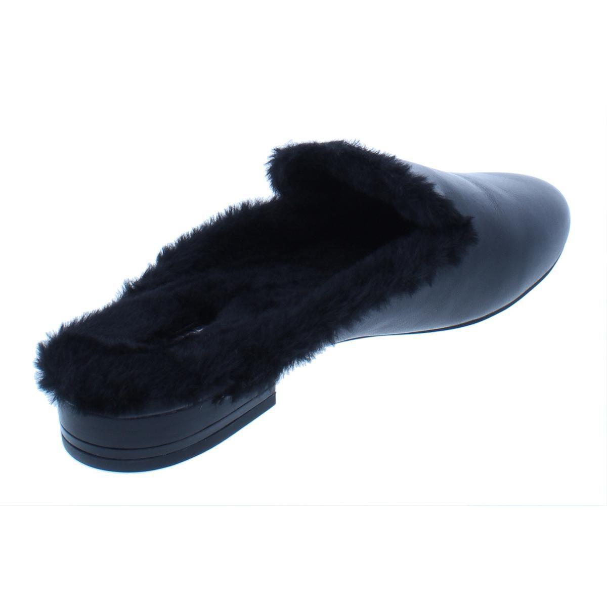 449db58b703 Lyst - Michael Michael Kors Womens Natasha Leather Casual Mules in Black