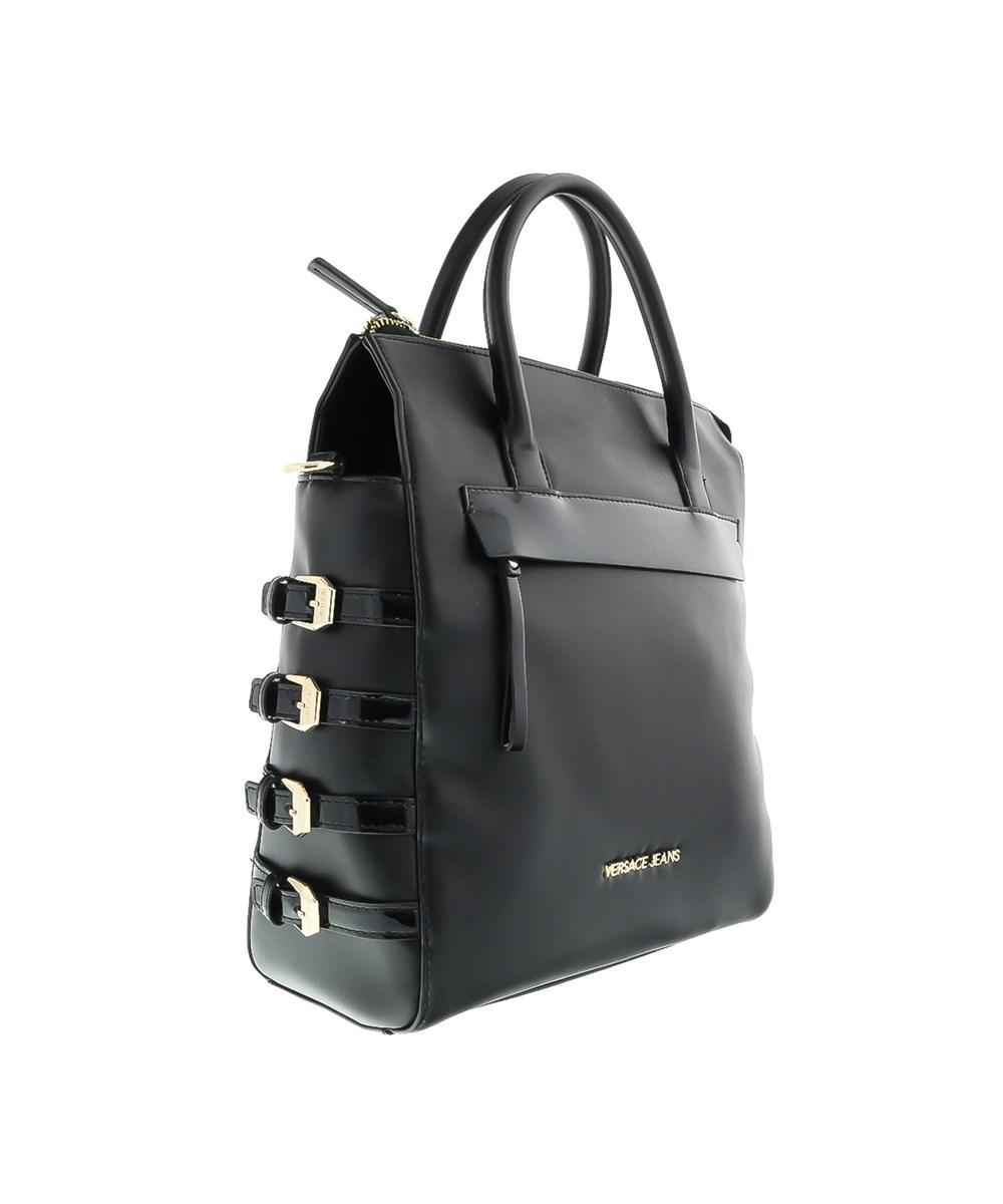 5f4983059f18 Versace Ee1vobbe3 E899 Black Shopper tote Bag in Black - Lyst