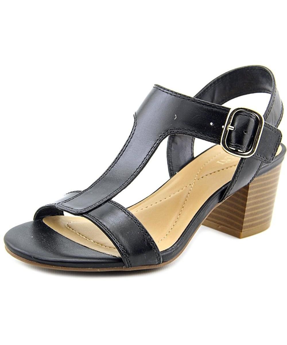 Lyst Alfani Damenschuhe Yullia Leder Open Toe Toe Open Casual Ankle Strap ... 582a12